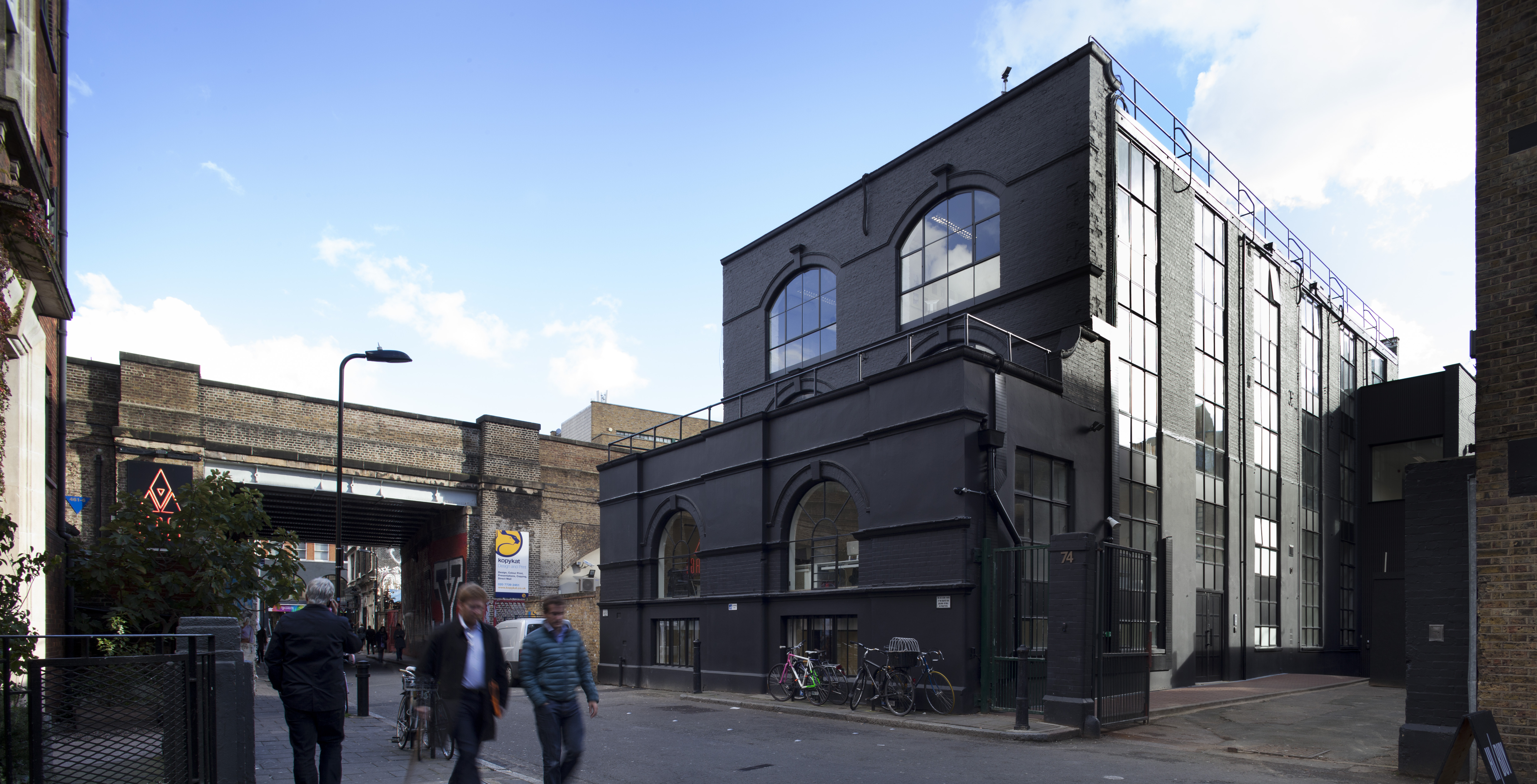 New Co-working Space in Shoreditch - The Black & White Building ...