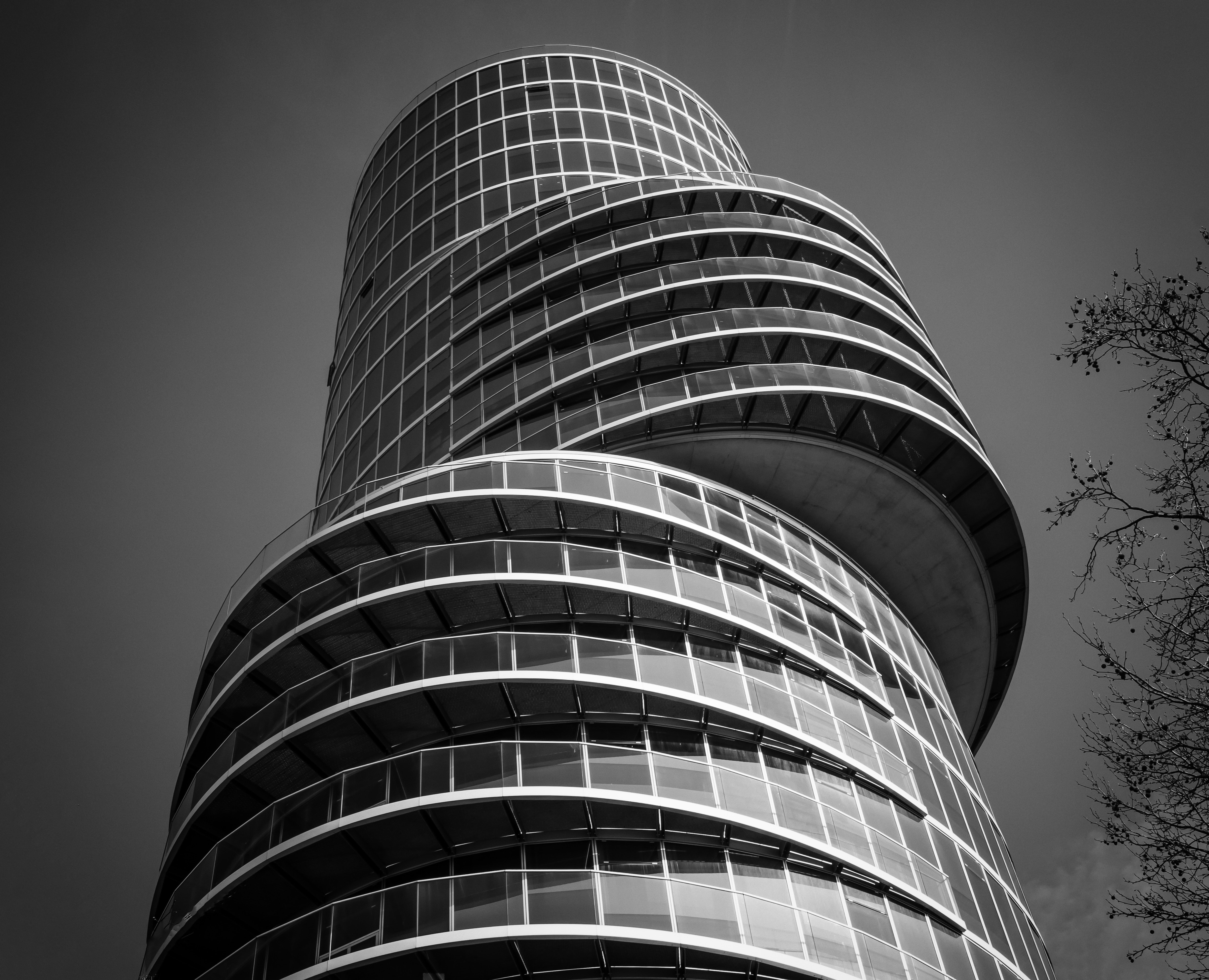 Free stock photo of architecture, black-and-white, building