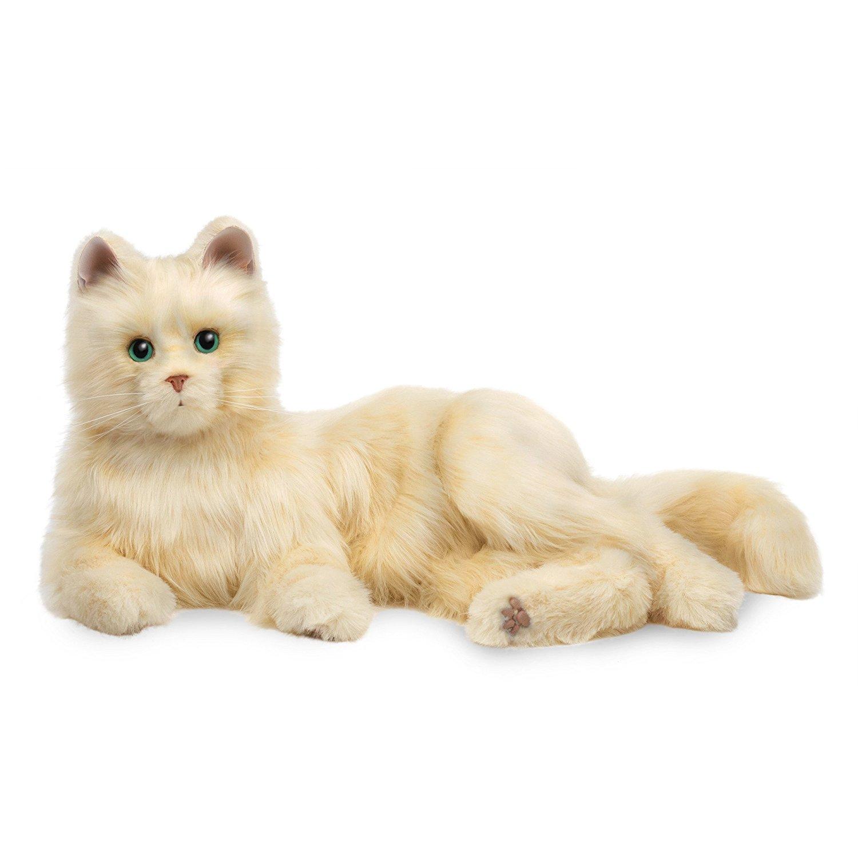 Amazon.com: Joy For All Creamy White Cat: Hasbro: Toys & Games