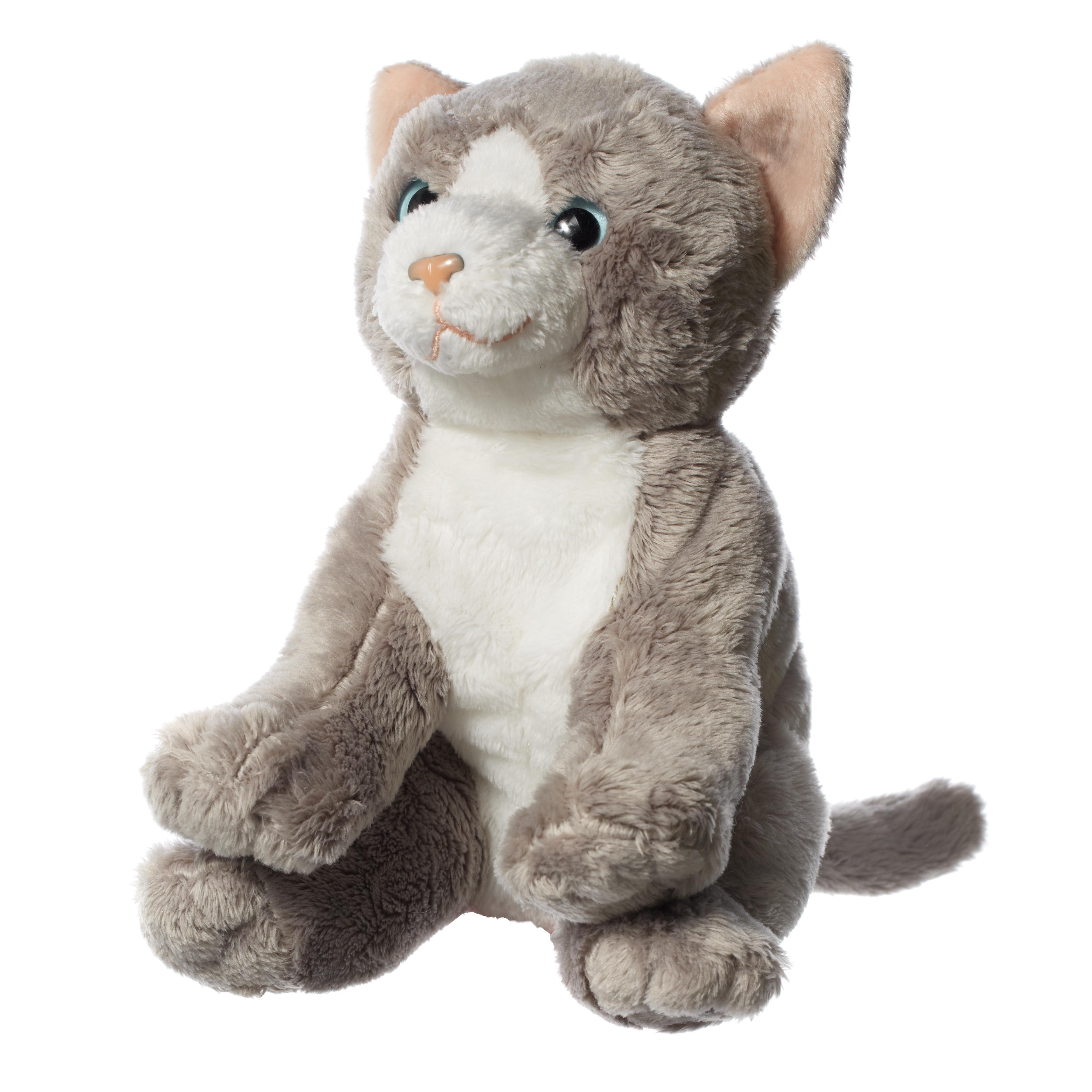 Hamleys 6-Inch Grey & White Cat Soft Toy - £9.00 - Hamleys for Toys ...