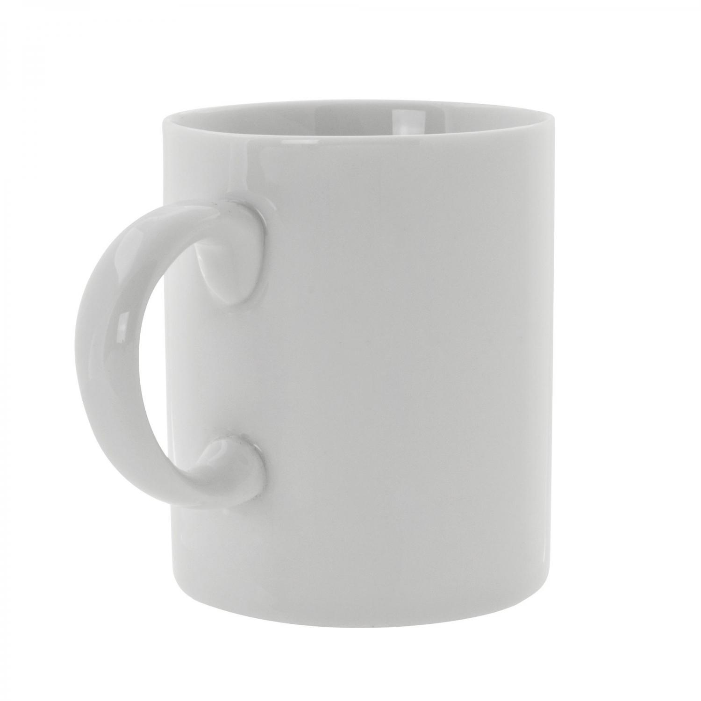 10 Strawberry Street RW0028 Royal White Coffee Mug with C-Handle 3