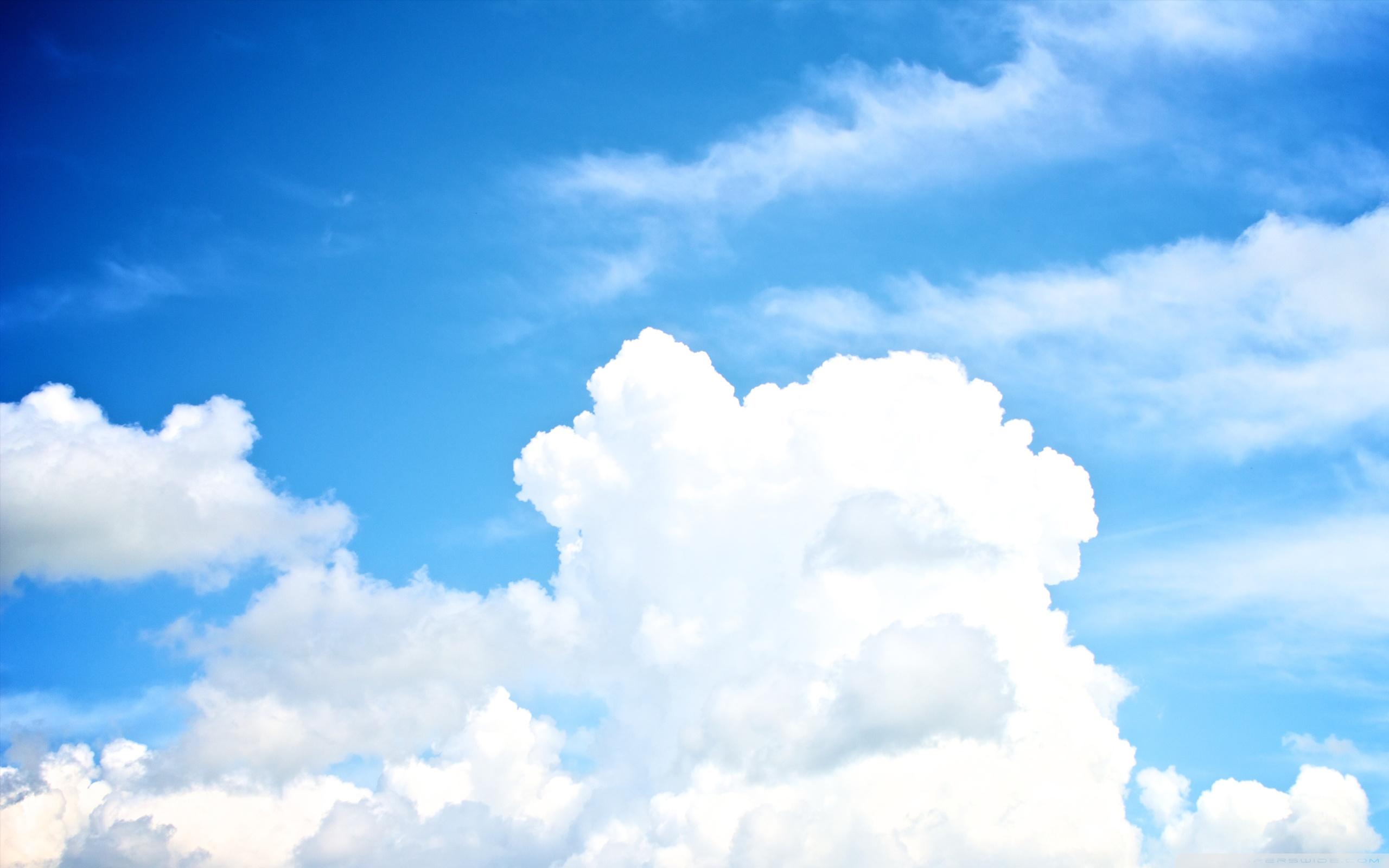 White Clouds In The Sky ❤ 4K HD Desktop Wallpaper for 4K Ultra HD ...