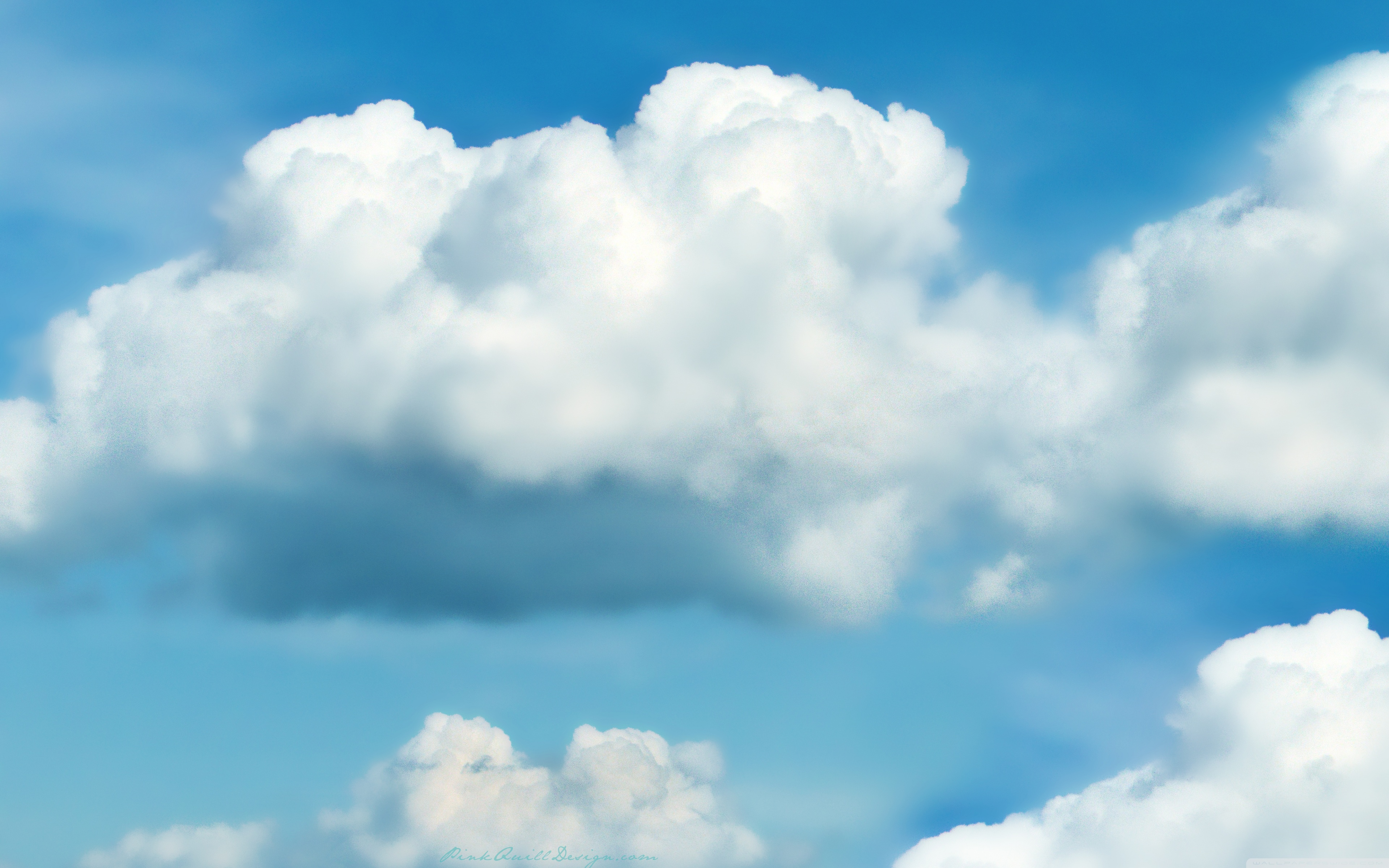 Fluffy White Clouds ❤ 4K HD Desktop Wallpaper for 4K Ultra HD TV ...