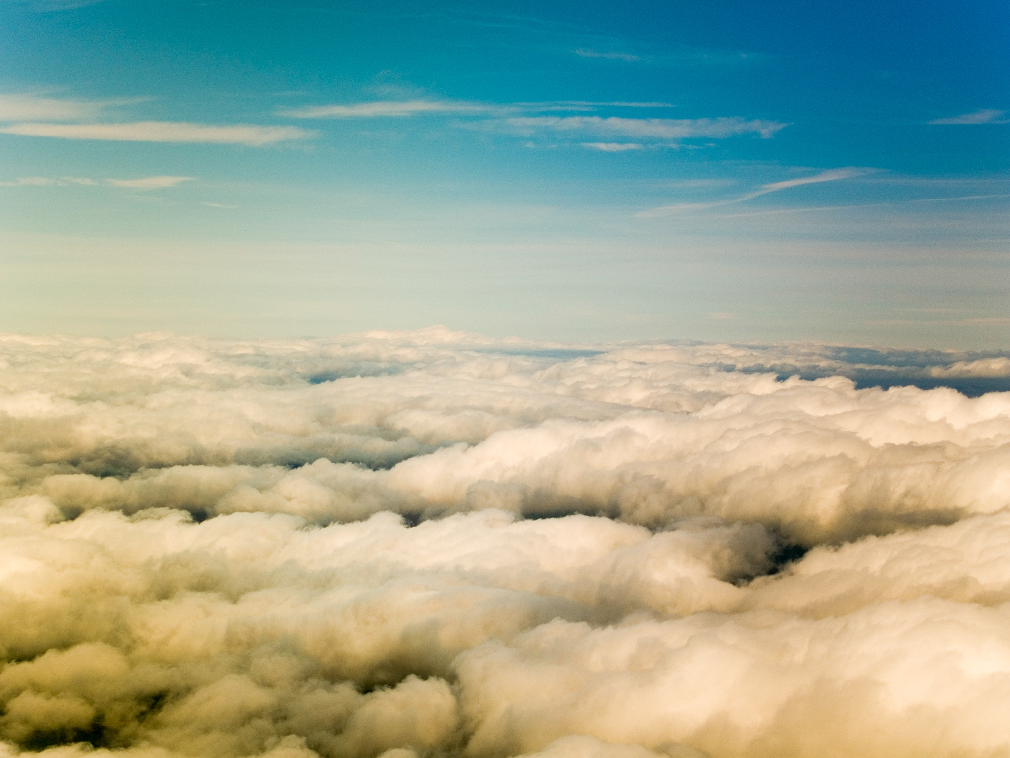 White Clouds, White, Sky, Nature, Cloudy, HQ Photo
