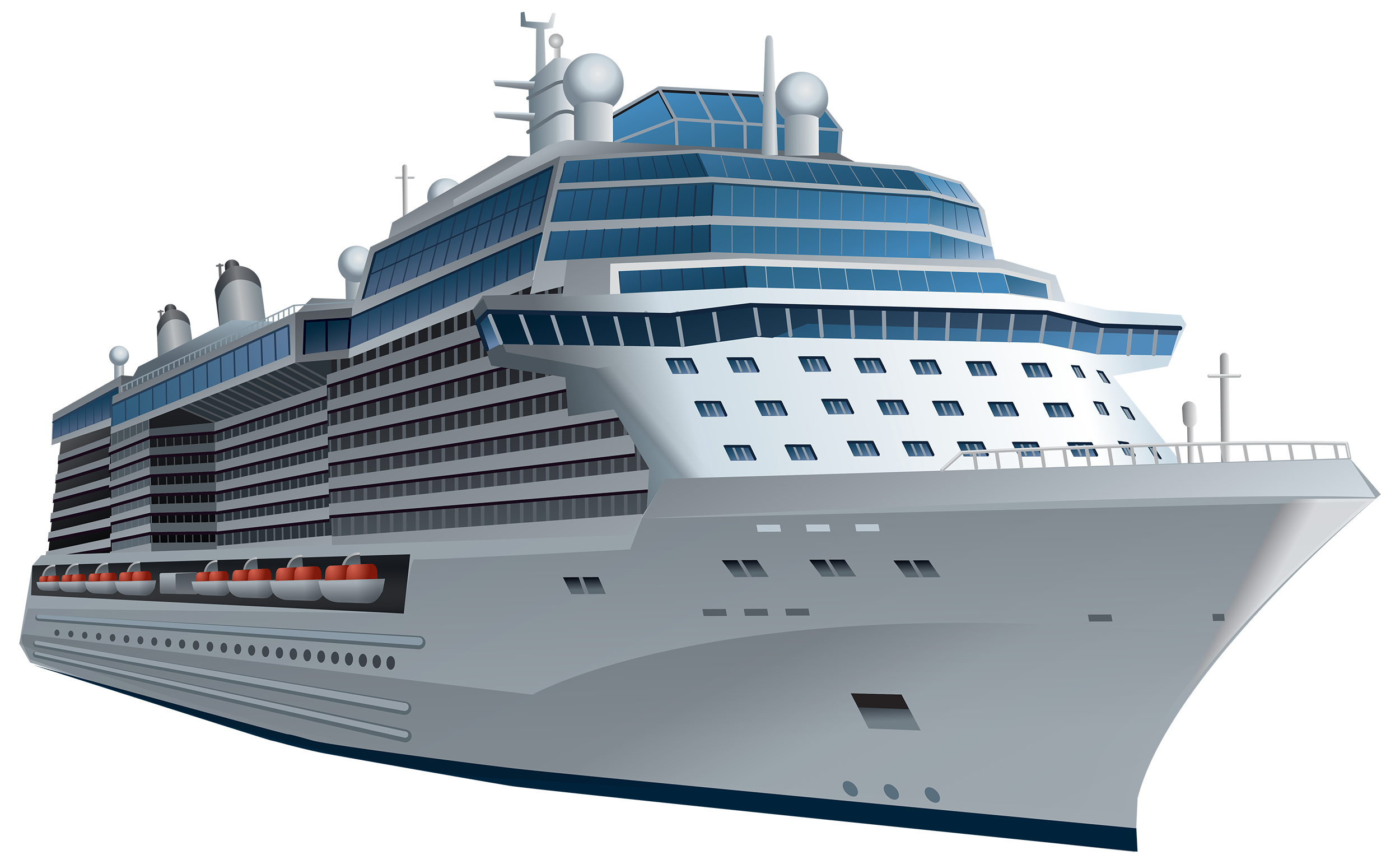 White Cruise Ship PNG Clipart - Best WEB Clipart
