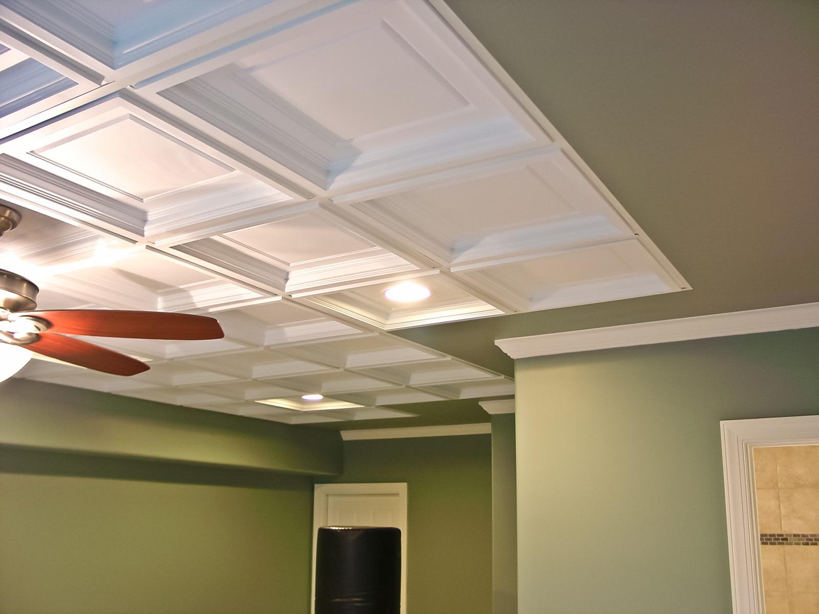 Drop Ceiling Tiles 2x4 Ideas — Charter Home Ideas