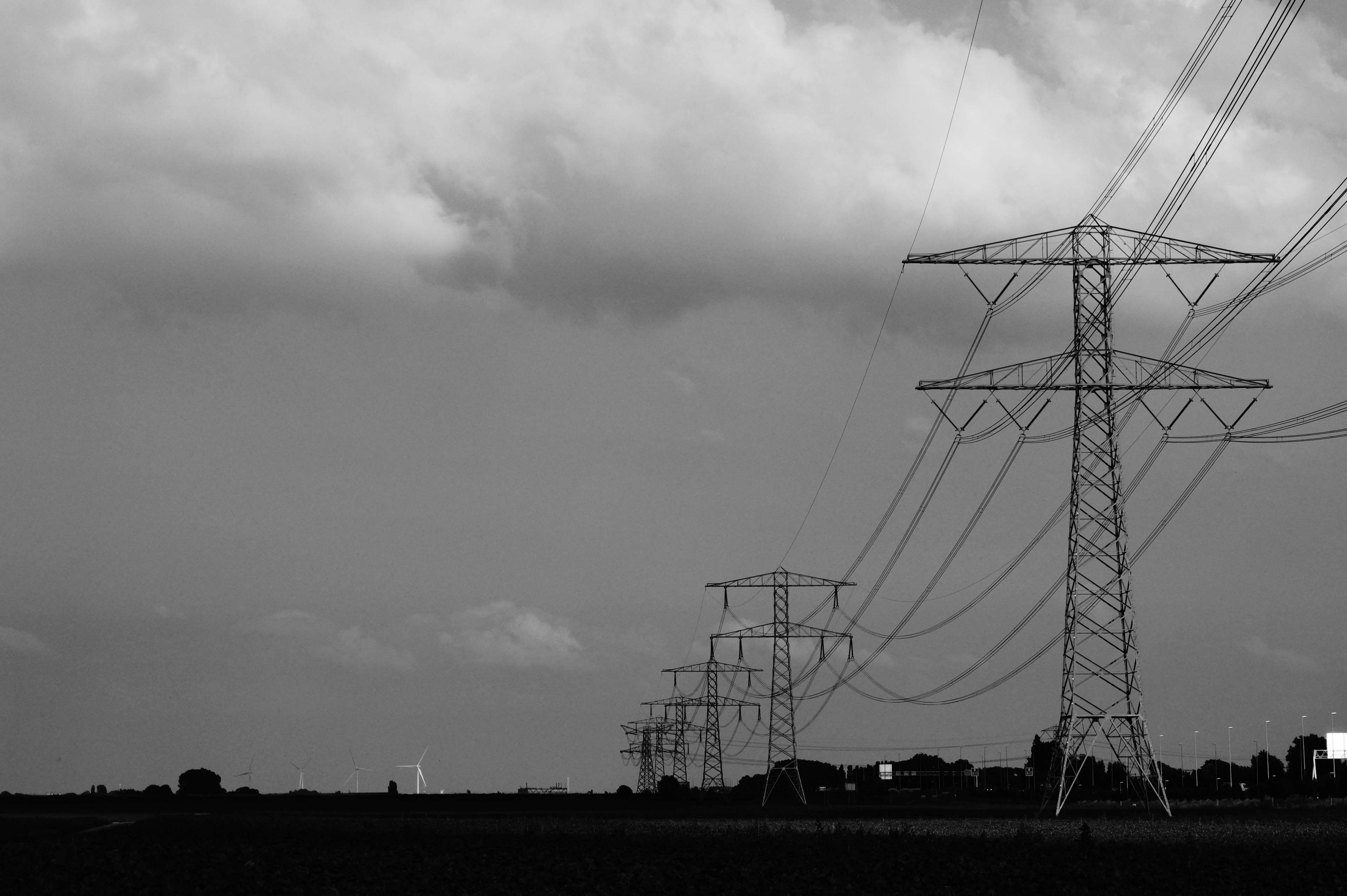 black and white #danger #distribution #electric #electricity #energy ...