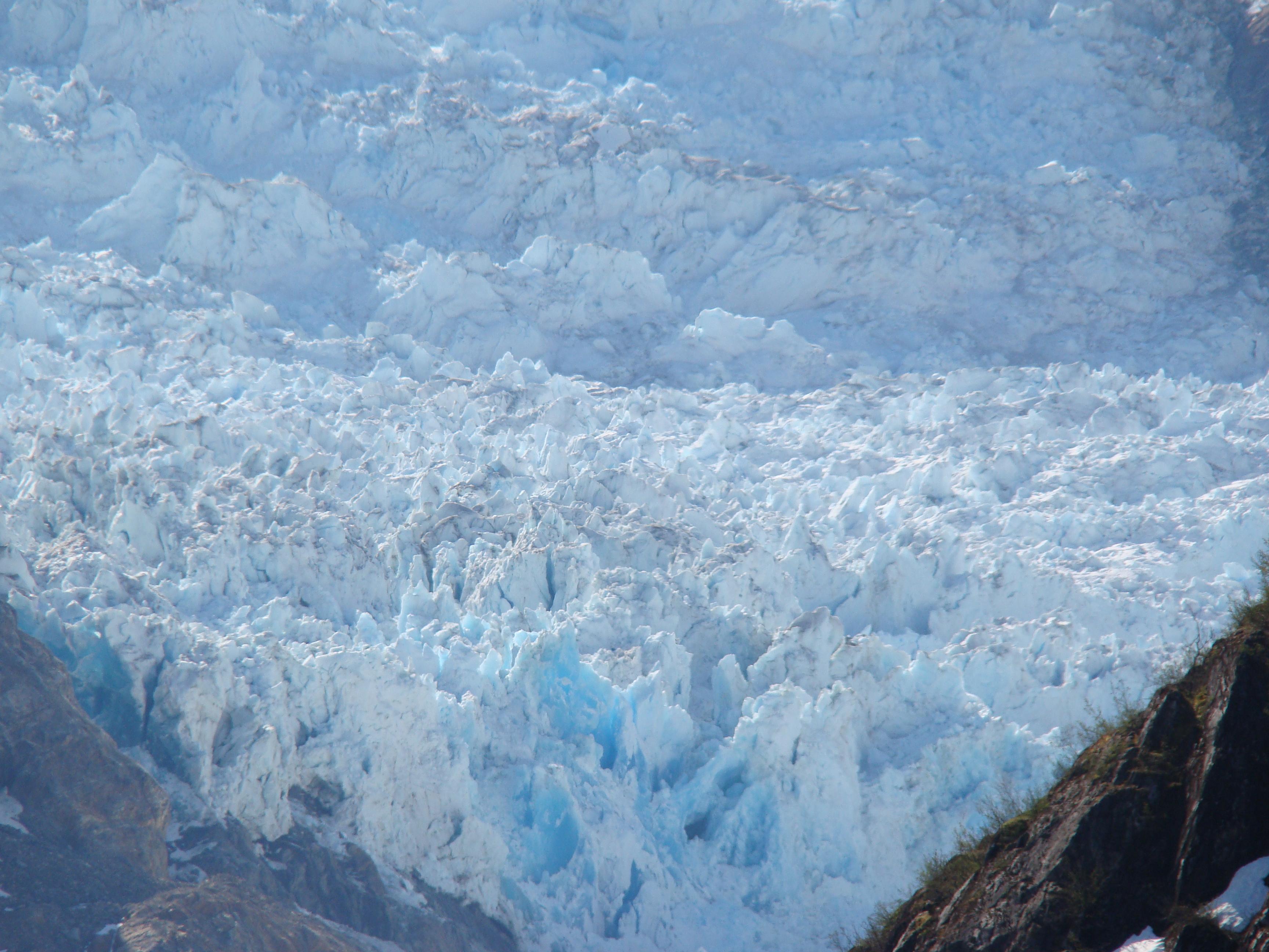 Tortured turquoise and white thunder! Glaciers of Alaska | Stranger ...