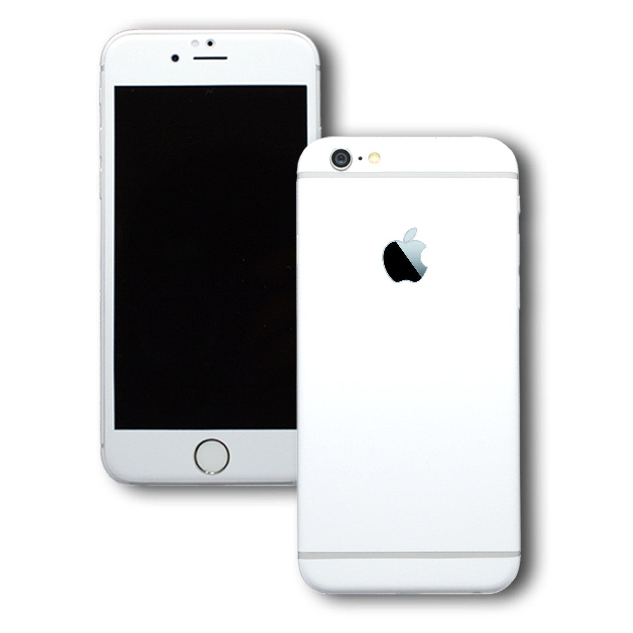 iPhone 6S White MATT Skin / Wrap / Decal – EasySkinz