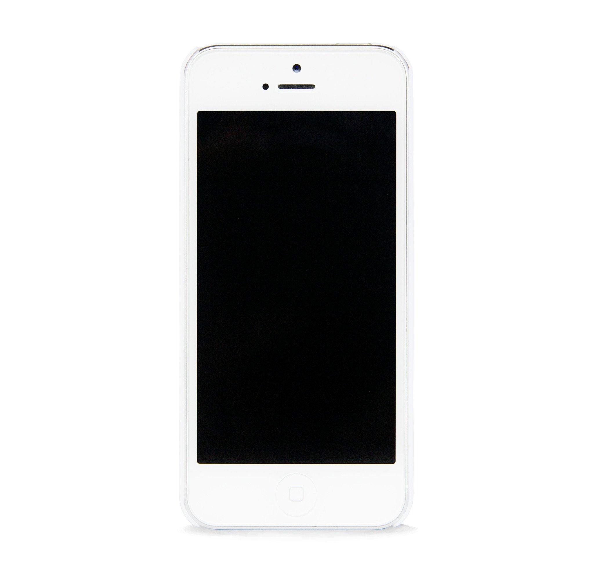 AZTEC ON WOOD WHITE IPHONE 5/5S CASE | BlissfulCASENY