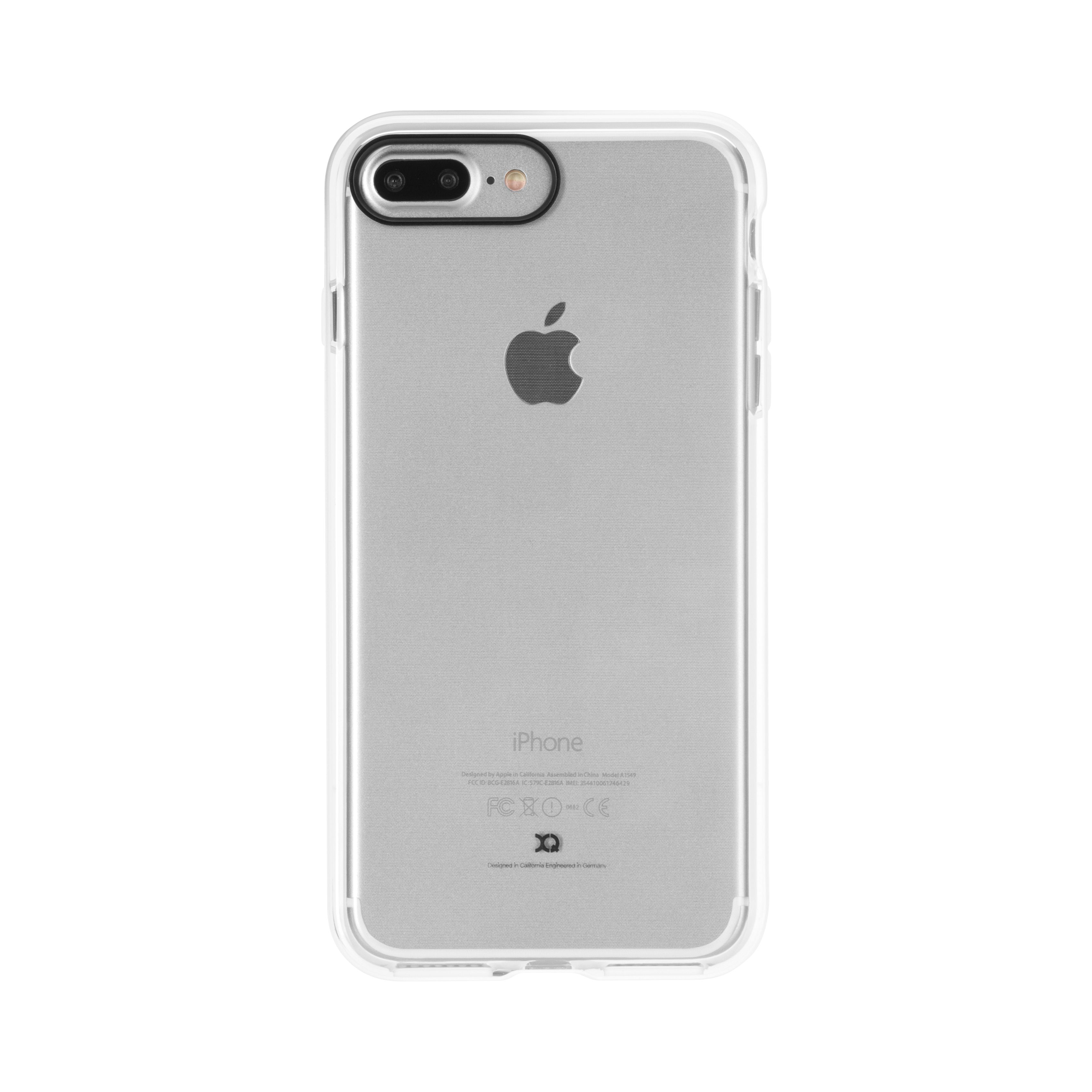 Phantom Xcel iPhone 7 Plus Case for Apple Clear/White | Xqisit