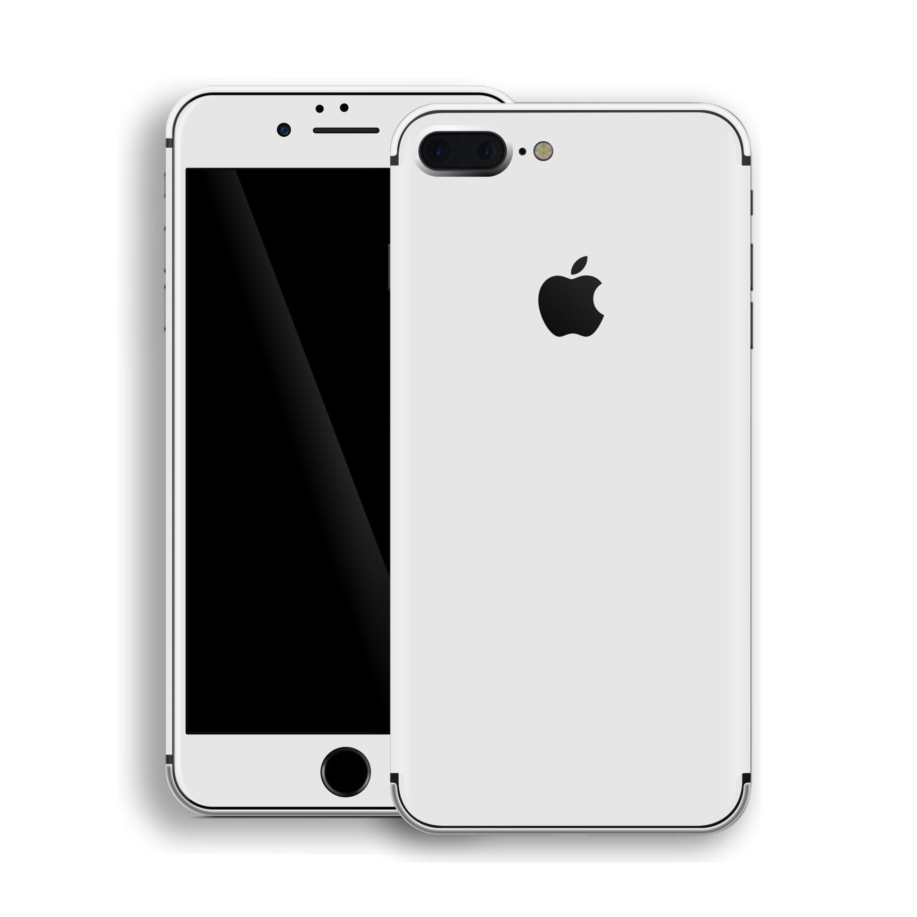 iPhone 8 PLUS GLOSS JET WHITE Skin – EasySkinz