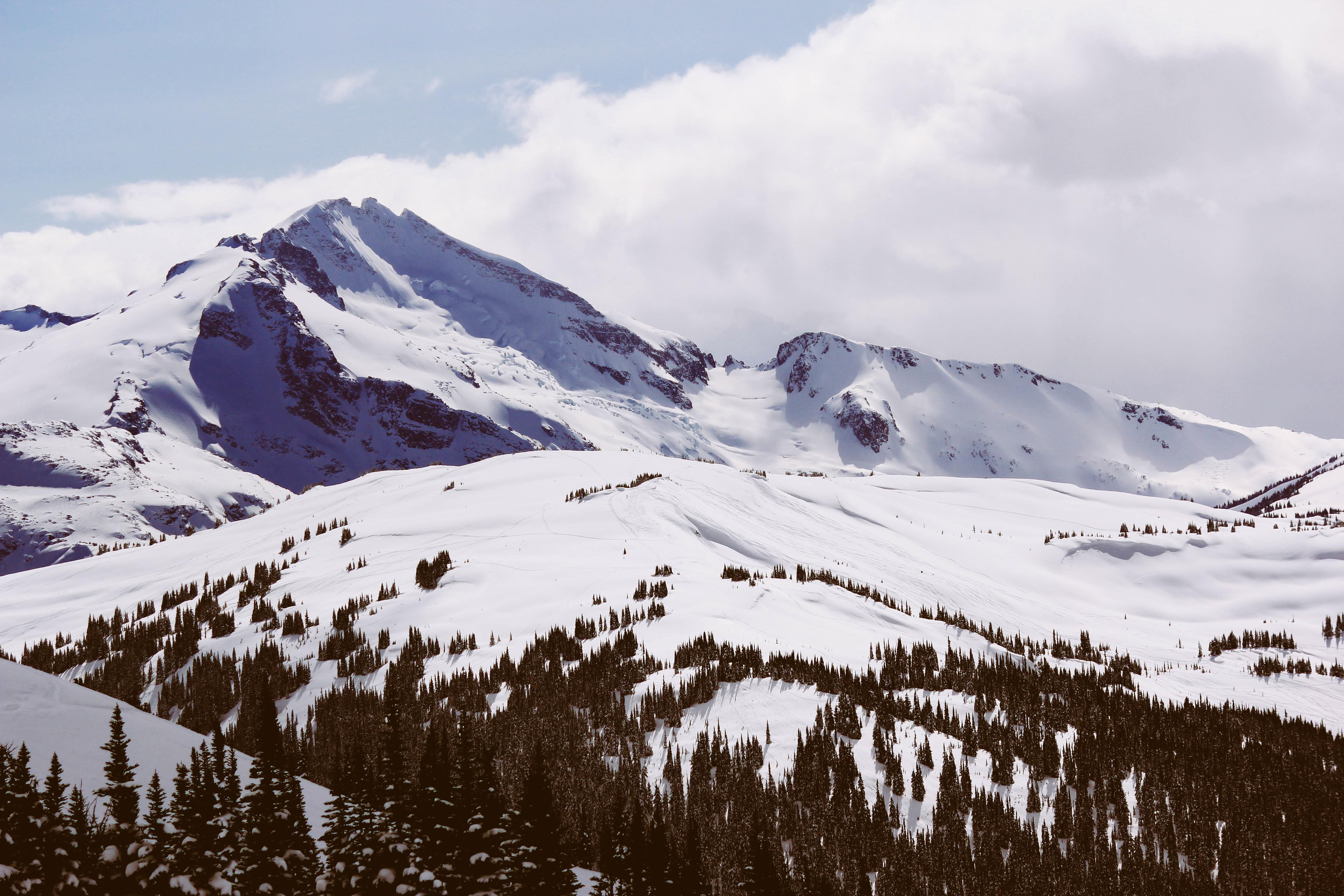 White Landscape, Cold, Landscape, Mountain, Snow, HQ Photo