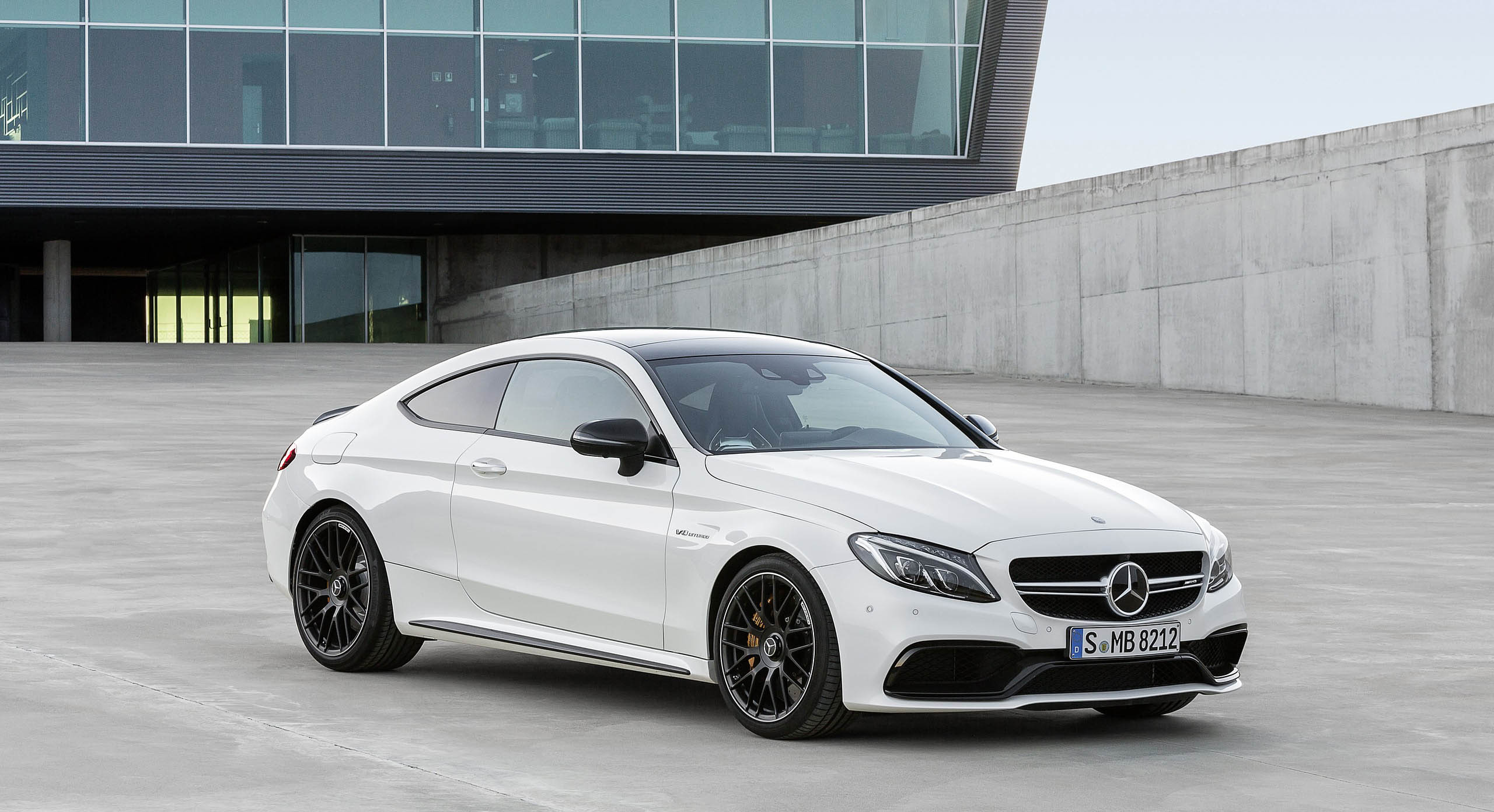 2017 Mercedes‑AMG C63 Coupe White Colors #24969 - 2017 Cars Wallpaper