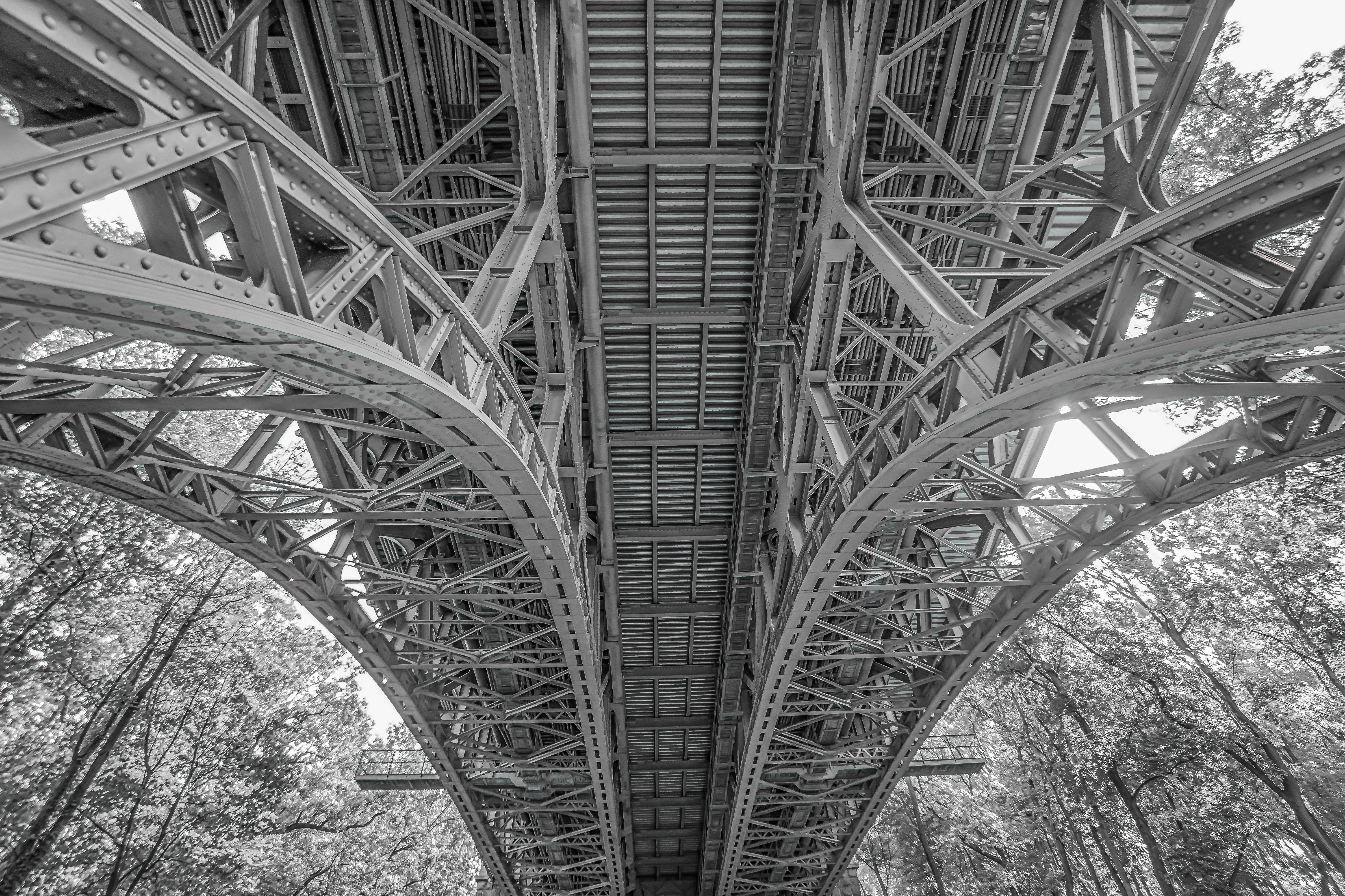 Black & White #Bridge 100% open source photography [! Use me for ...