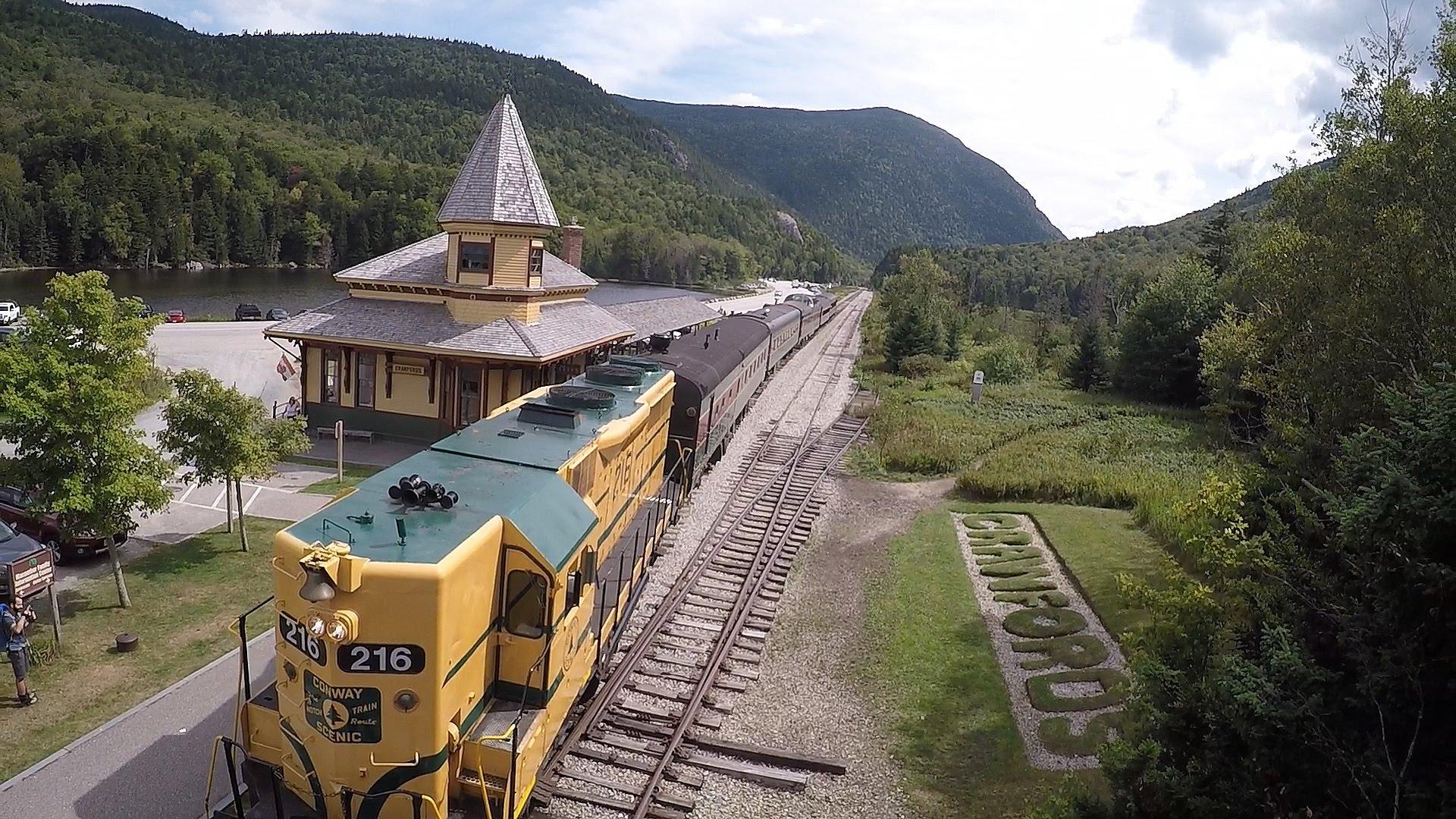 White Mountains Aerial Tour - New Hampshire - YouTube