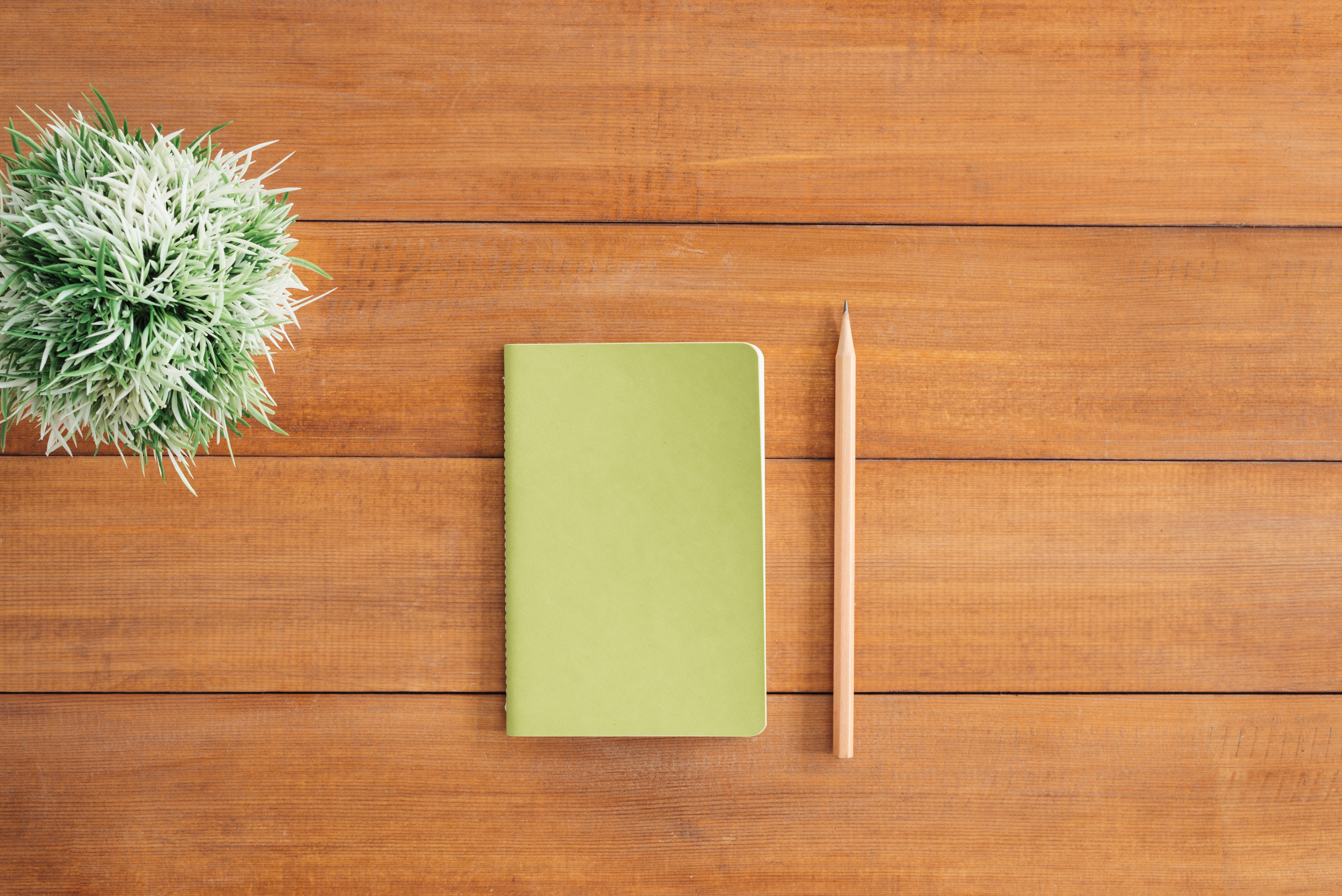 White Notes Beside a Pencil on Brown Wooden Surface, Background, Notepad, Work, Wooden, HQ Photo