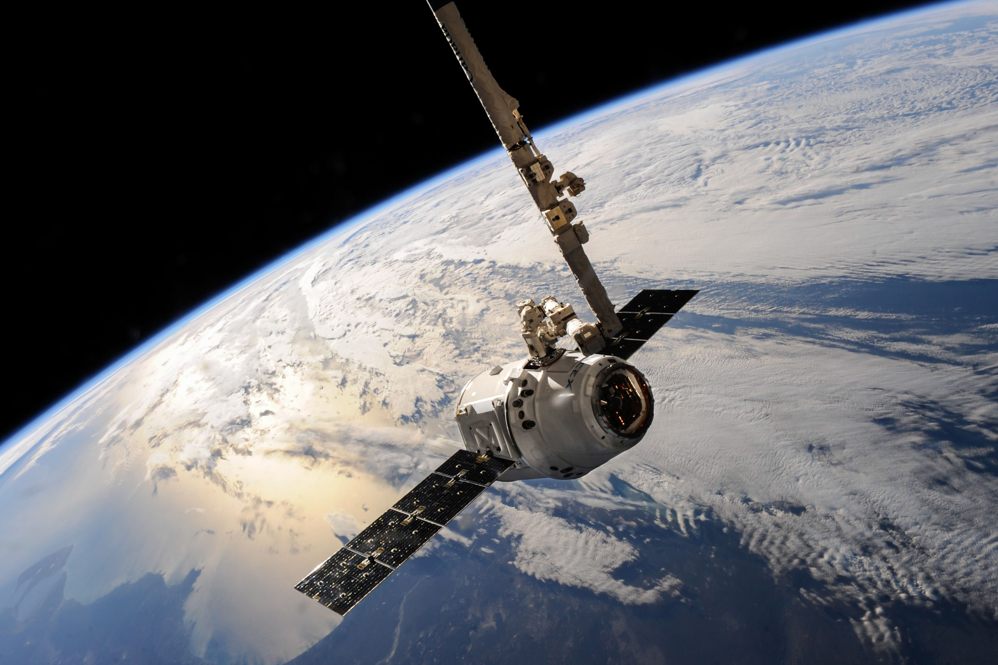 White Outer Space Satellite, Astronomy, Atmosphere, Aviation, Exploration, HQ Photo