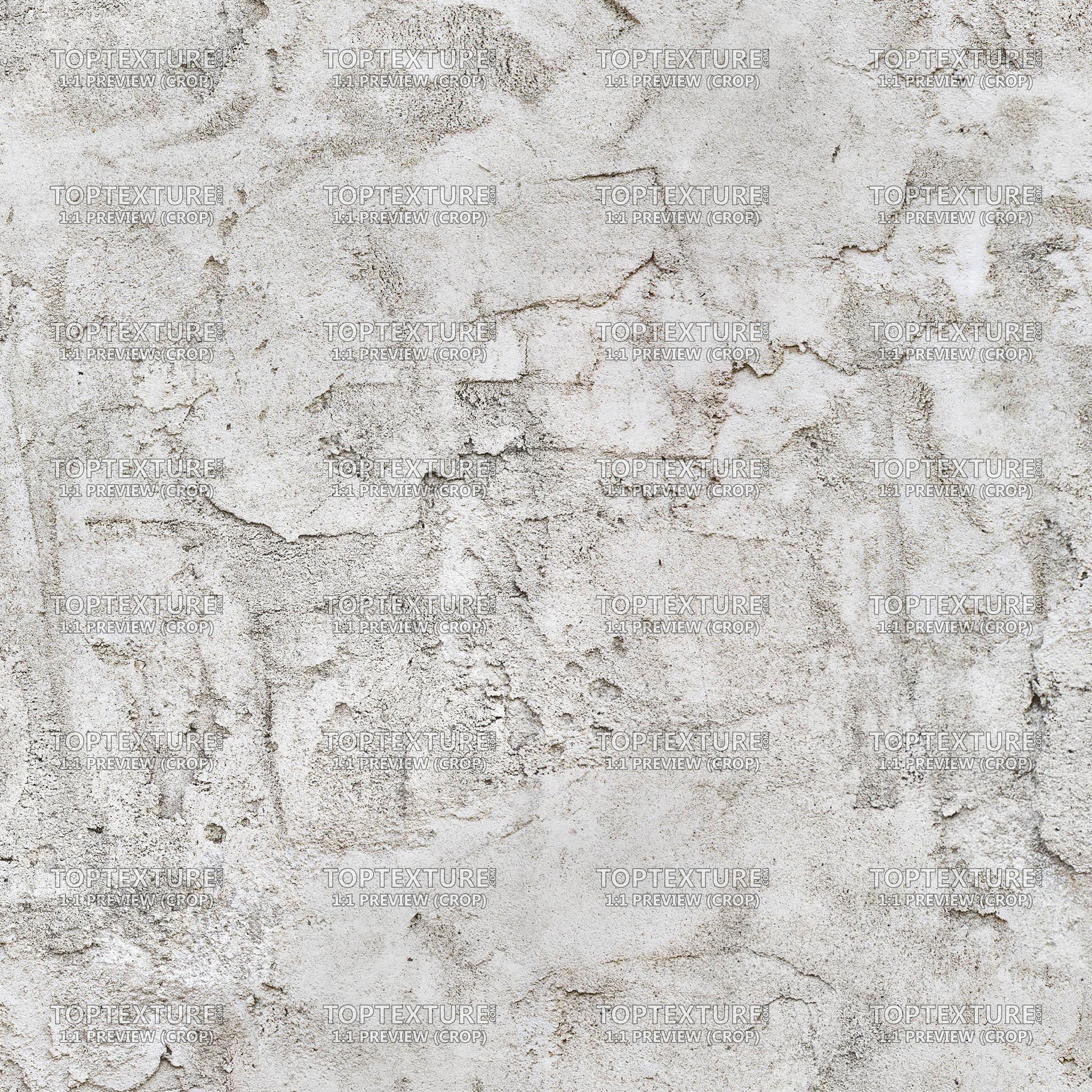 White plaster photo