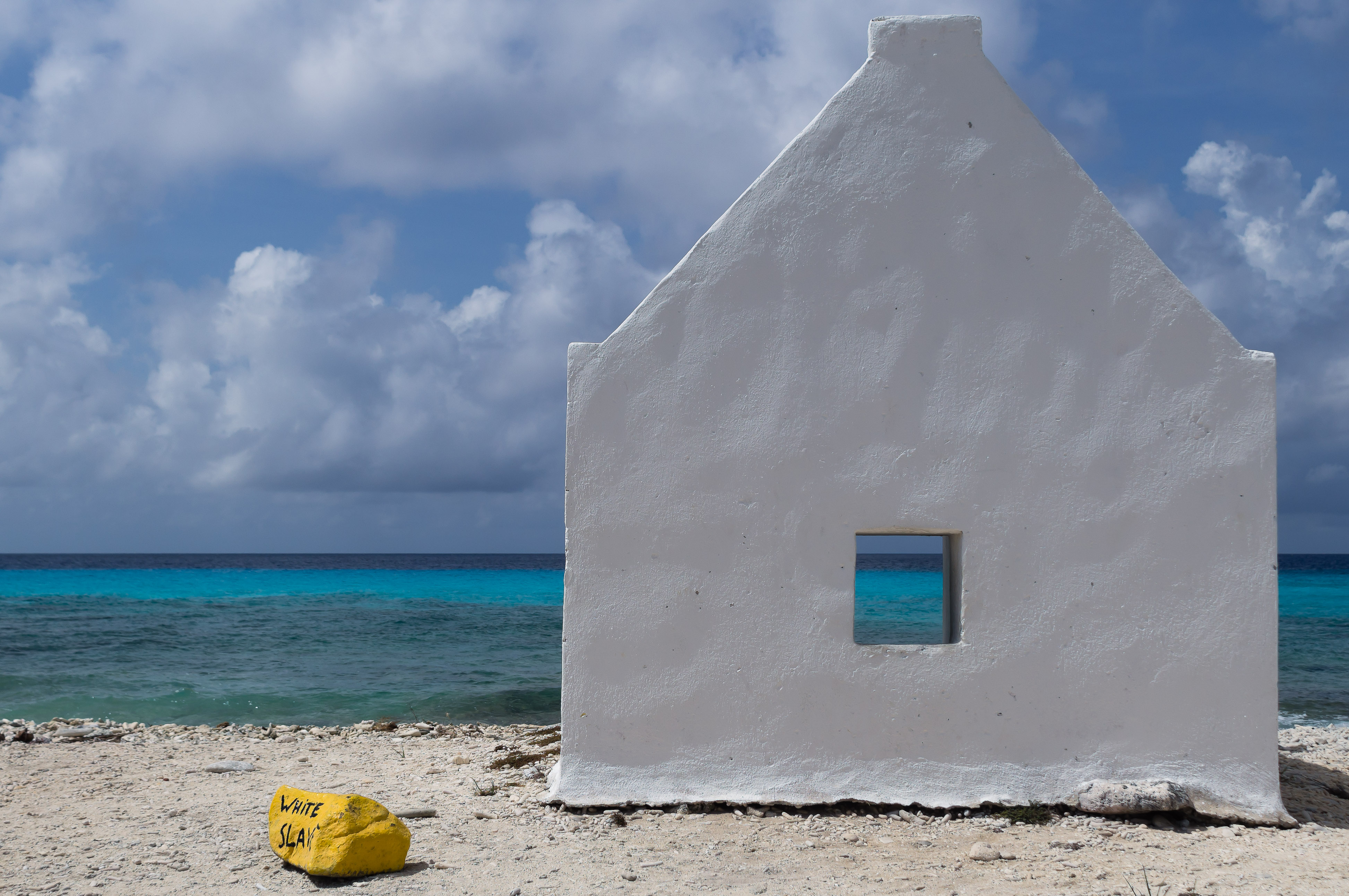 White Slave, Beach, Bonaire, House, Landscape, HQ Photo