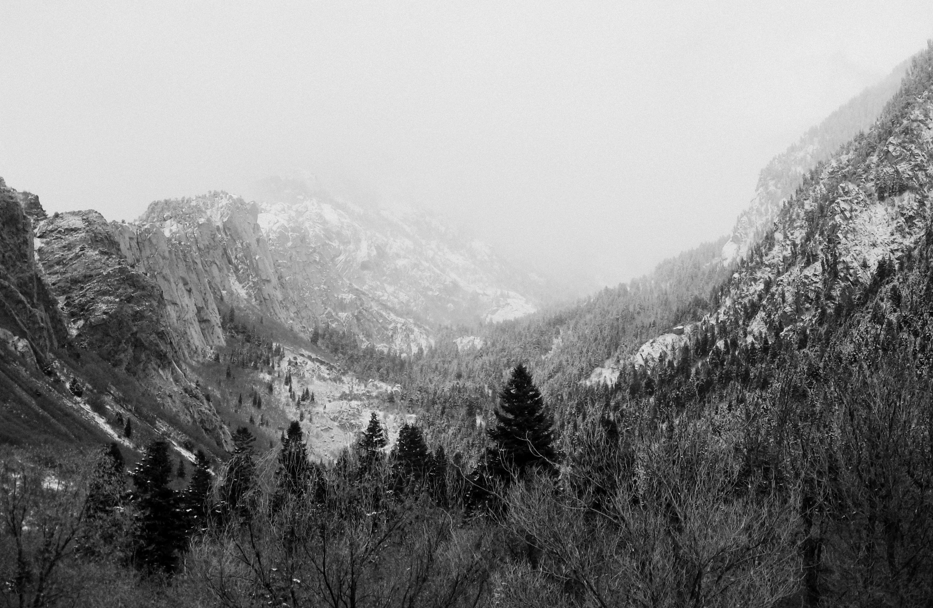 snow on mountains | Scott's Place...Images and Words