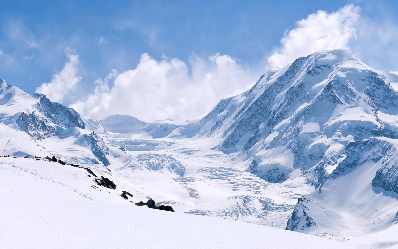 Mountains: Snow White Nature Winter Mountains Mountain Images Free ...