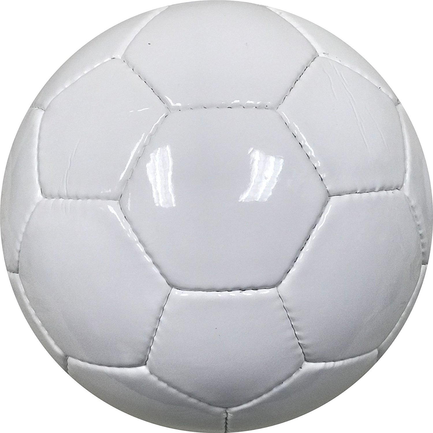 Amazon.com : All White Soccer Ball for Autographs Painting or for ...
