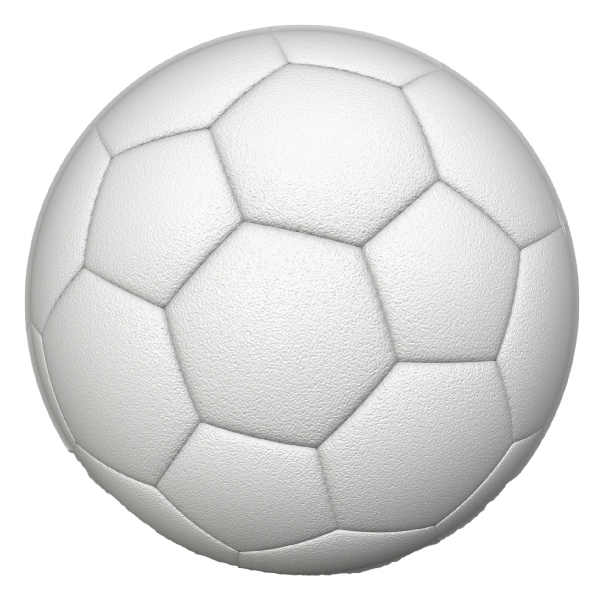 White Soccer Ball Free Stock Photo - Public Domain Pictures