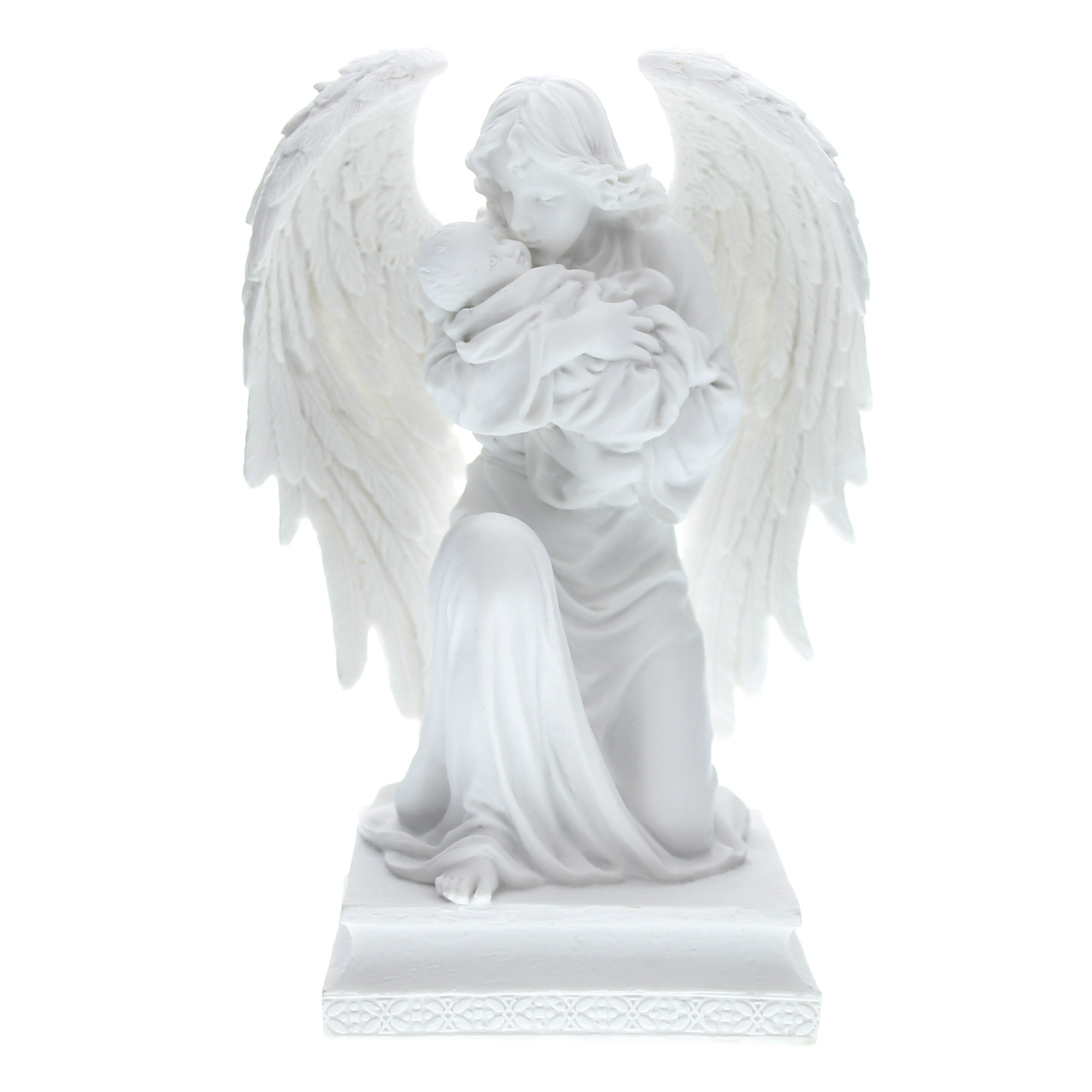Guardian Angel with Child Veronese Statue, 7 inch | The Catholic Company