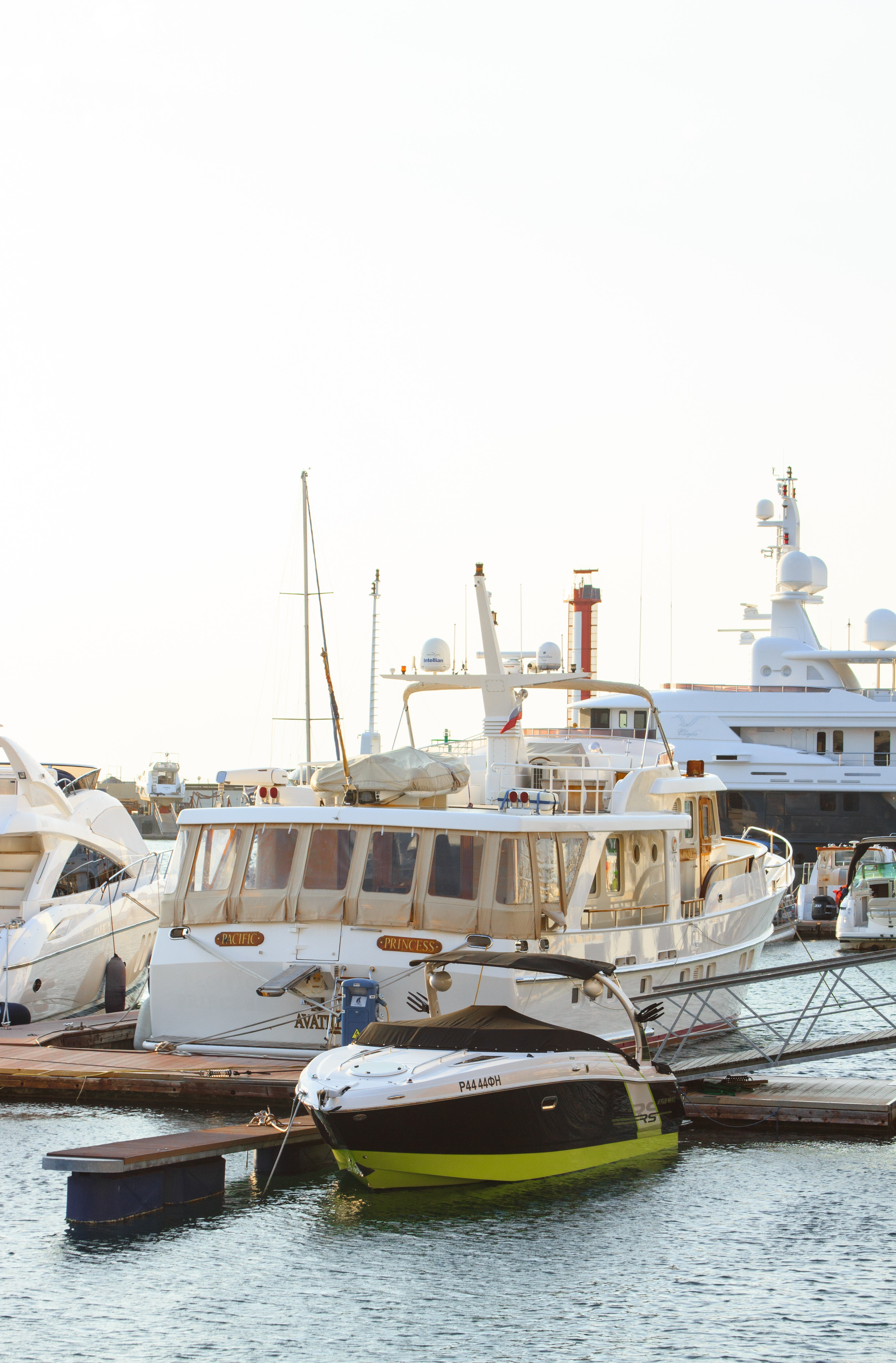 White Yacht Parked on Wooden Dock, Beach, Pier, Watercrafts, Water, HQ Photo