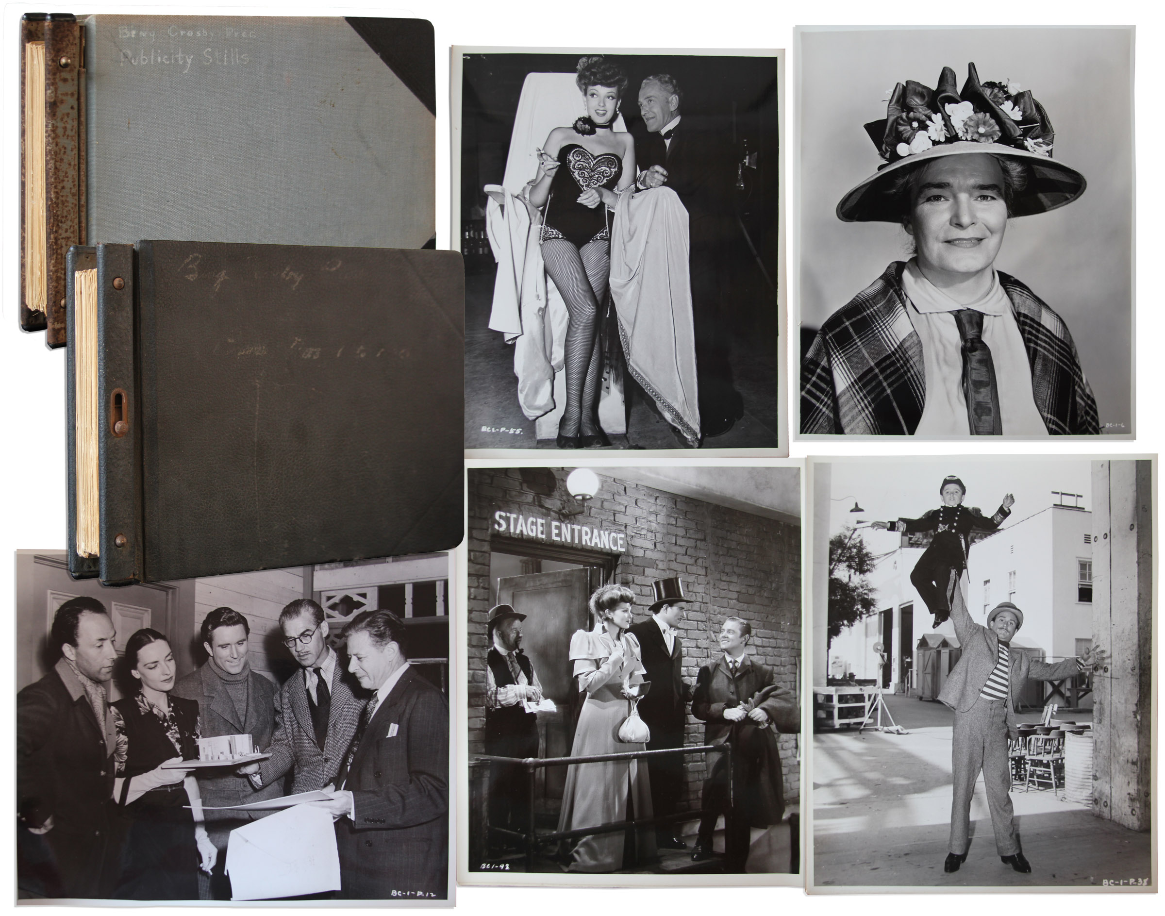 Lot Detail - Vast Collection of 175+ Original Publicity Stills From ...