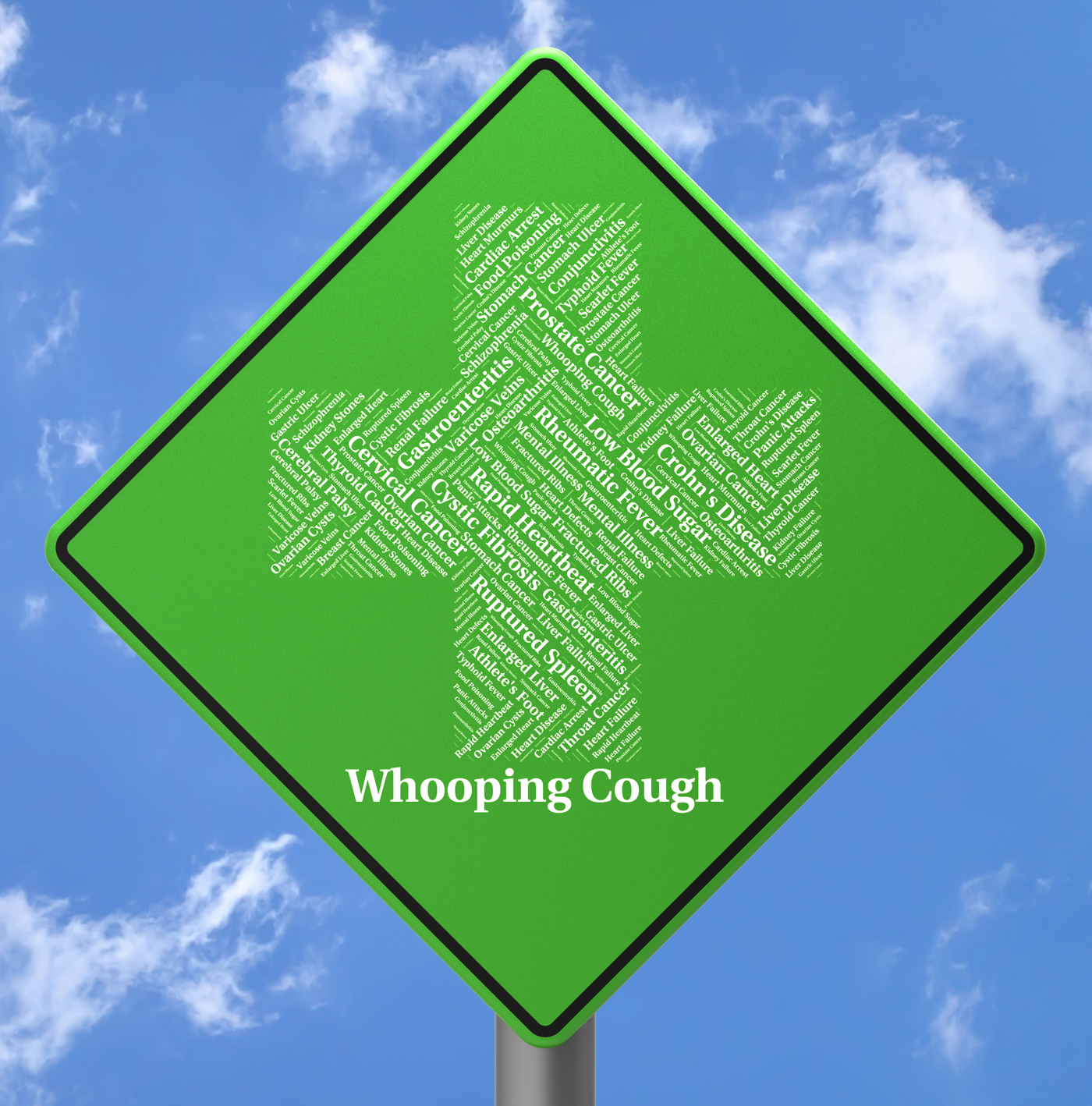 Whooping cough indicates bordetella pertussis and affliction photo