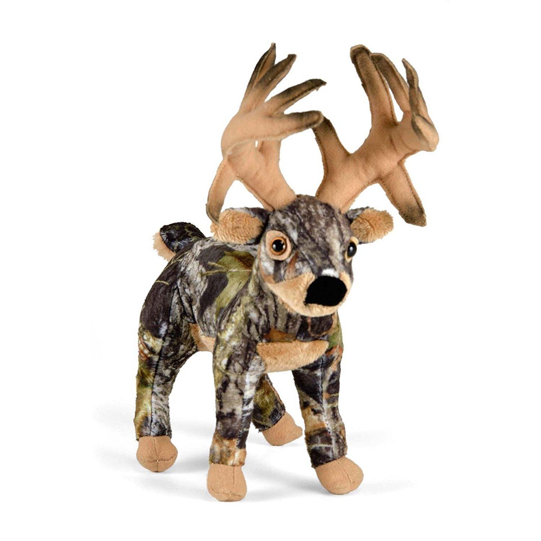 Wildlife Artists Mossy Oak Camo Wild Deer Plush One Size | The ...
