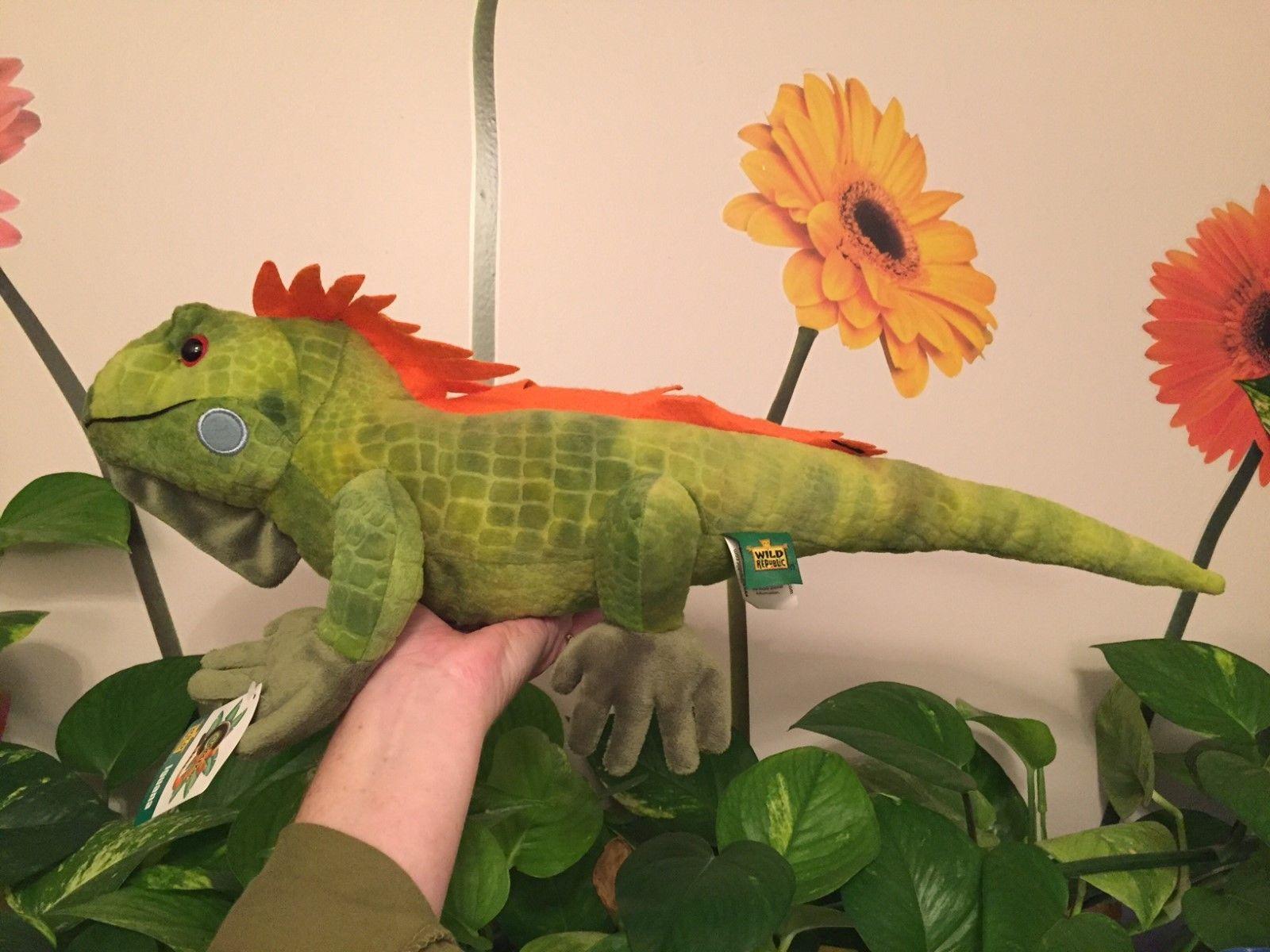 Stuffed Iguana by Wild Republic 23 Inches Style 12905 | eBay