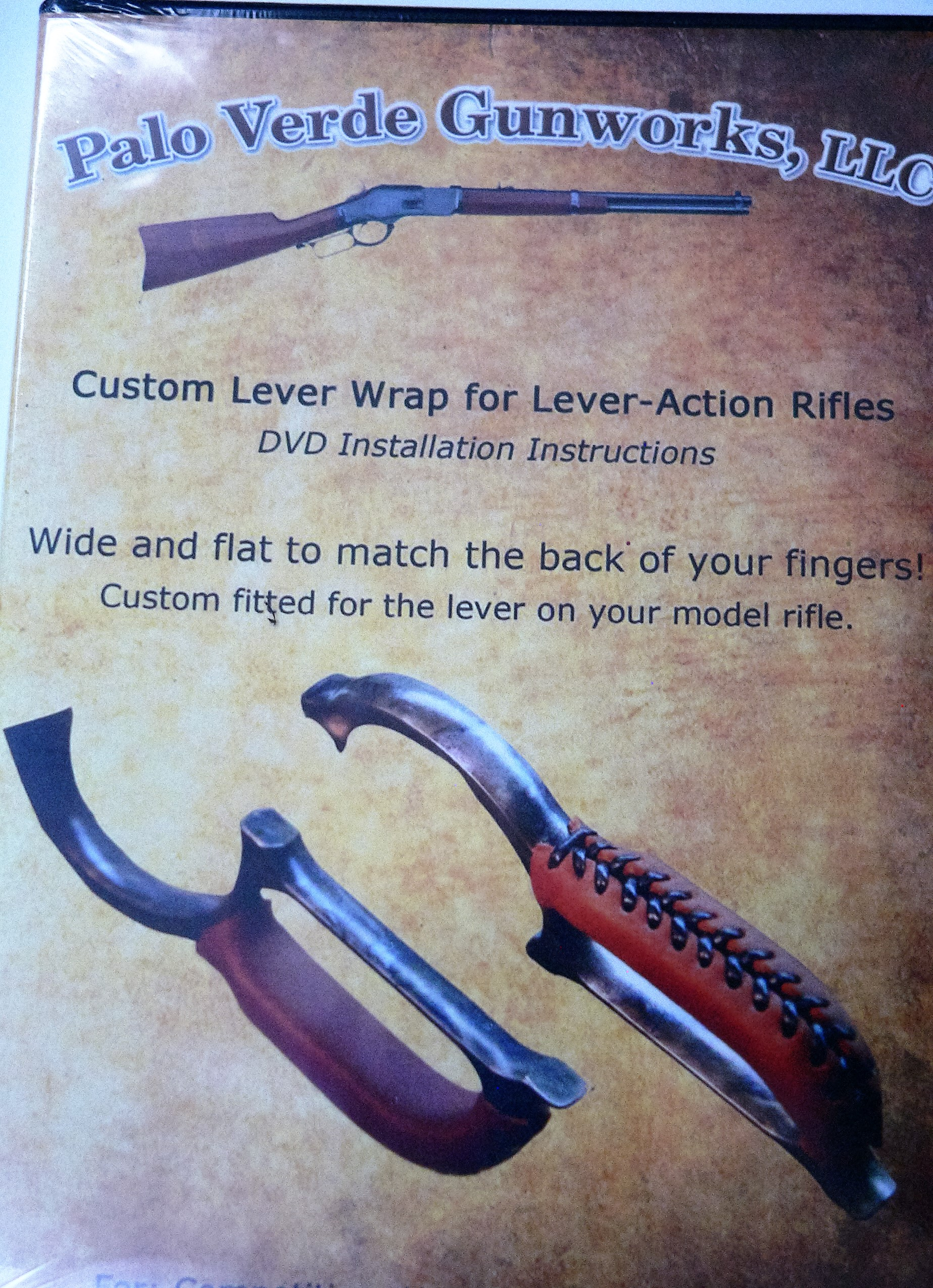 New Custom Leather Lever Wrap for Lever Action Winchester Uberti ...