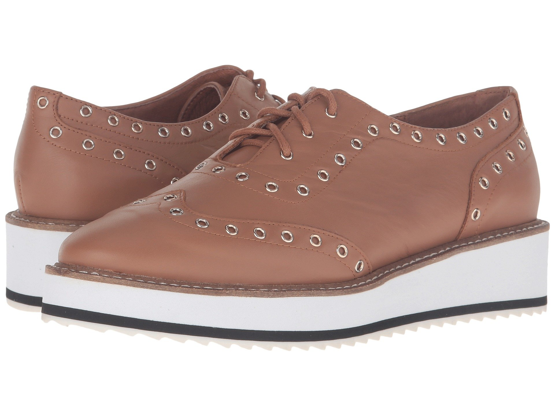 Shellys London Women's Shoes Winchester Tan Leather upper with ...