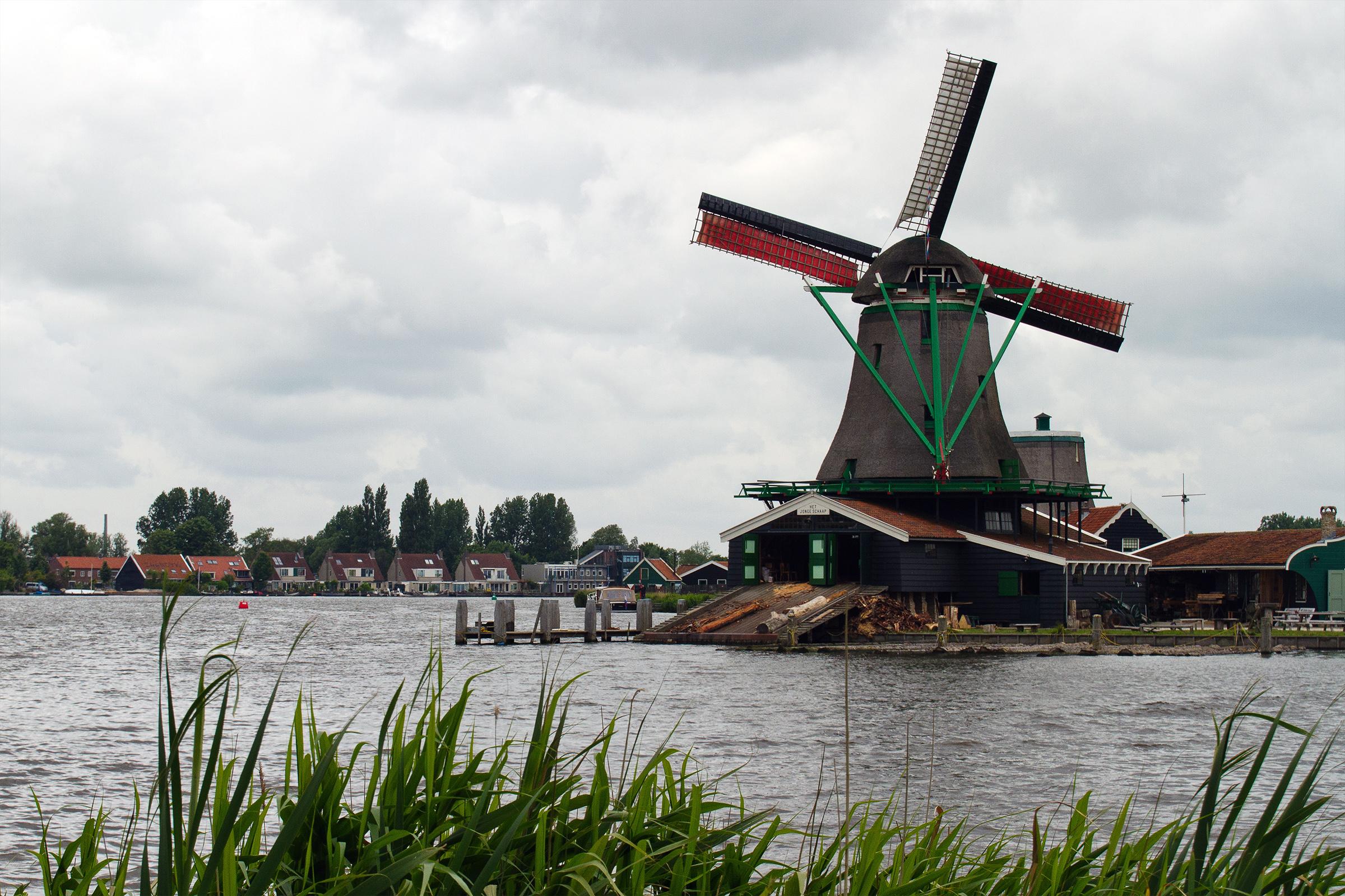 Windmill, Air, Rotate, House, Island, HQ Photo
