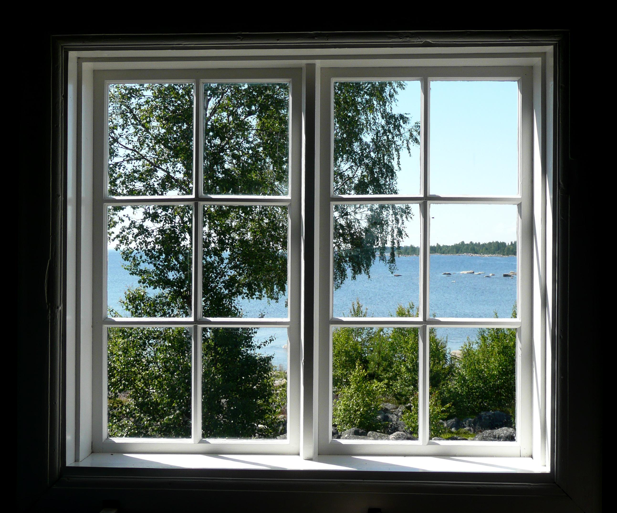 Window of house photo