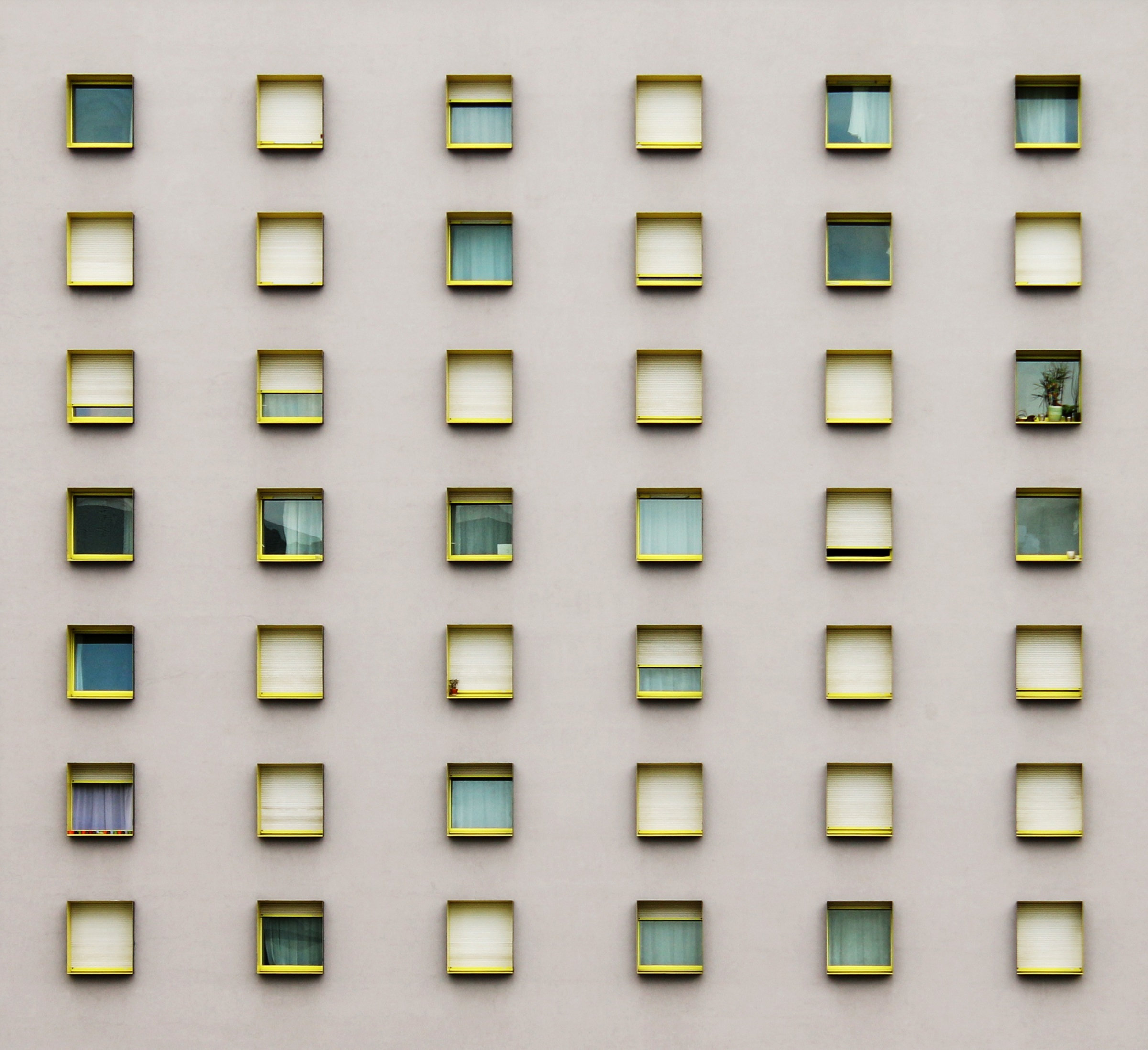 Windows pattern photo