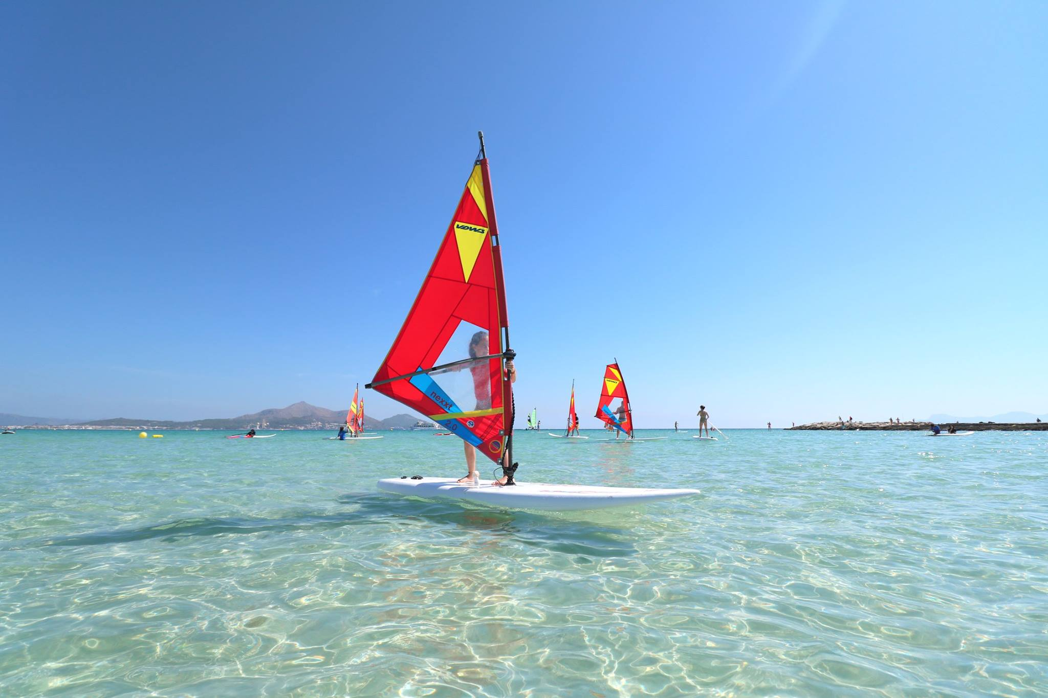 Windsurf in Mallorca - Windsurf lessons and Windsurf rental in ...