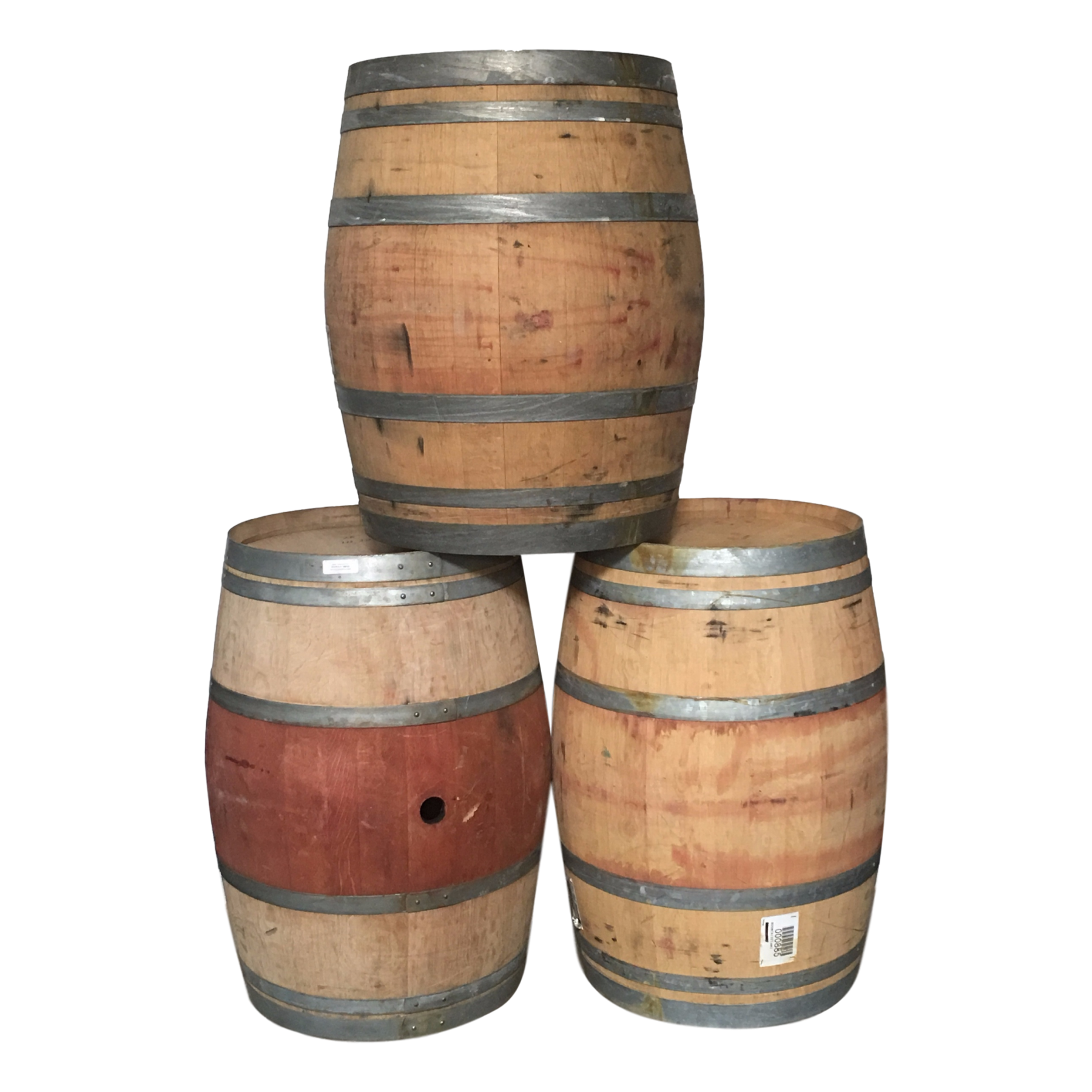 Wine Barrel (Authentic Oak) | San Diego Drums And Totes