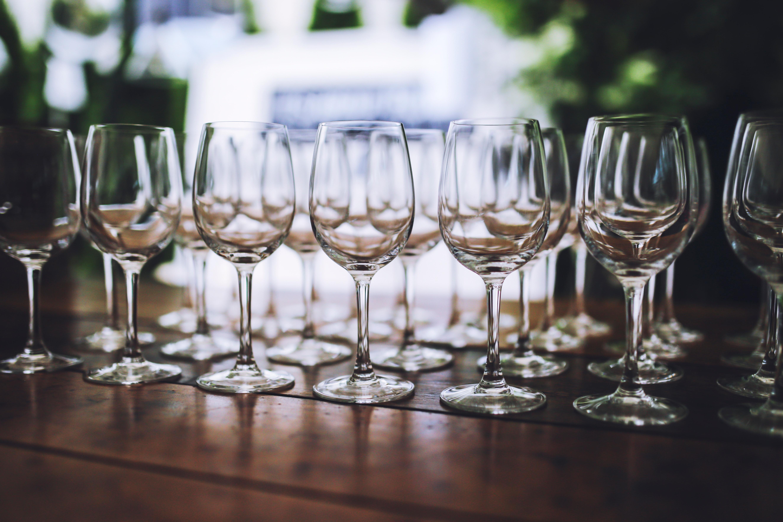 Wine glasses photo