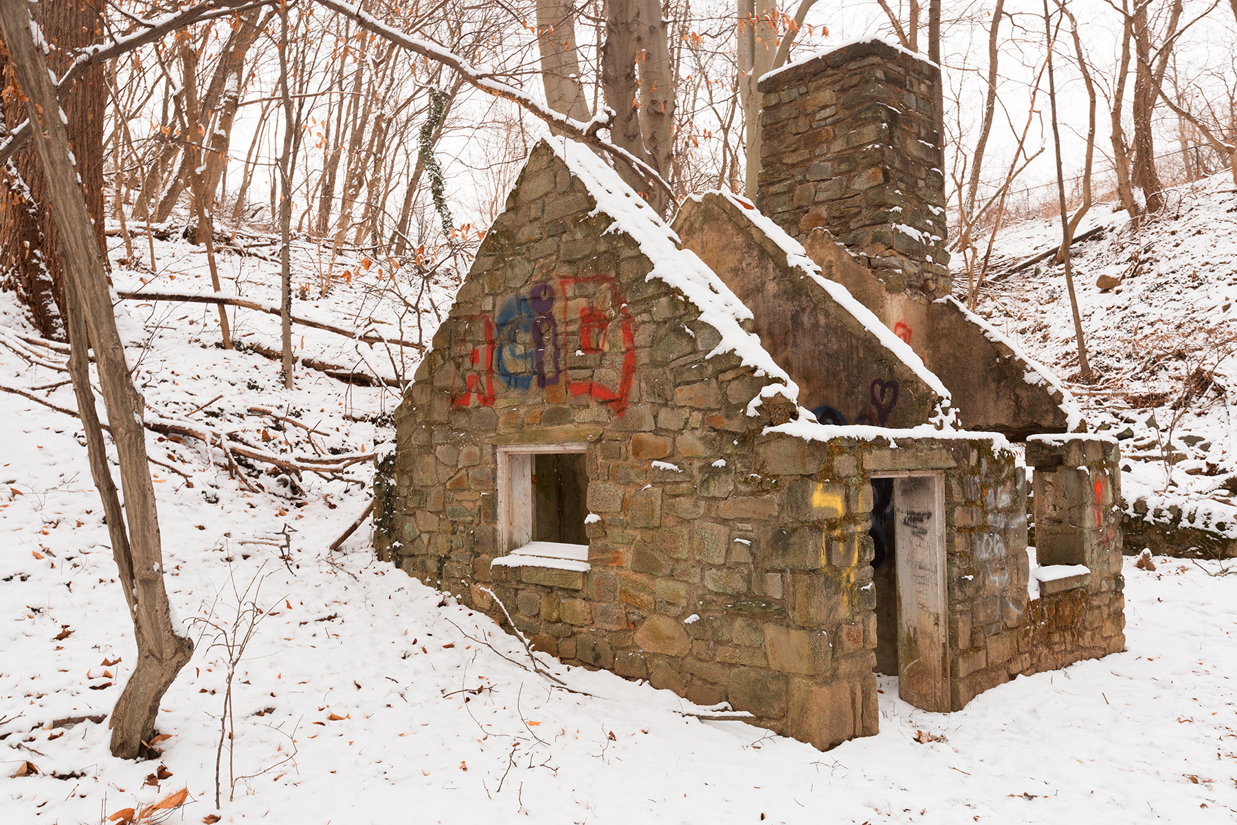 Winter Acid Ruins, , Rocks, Stained, Stain, HQ Photo