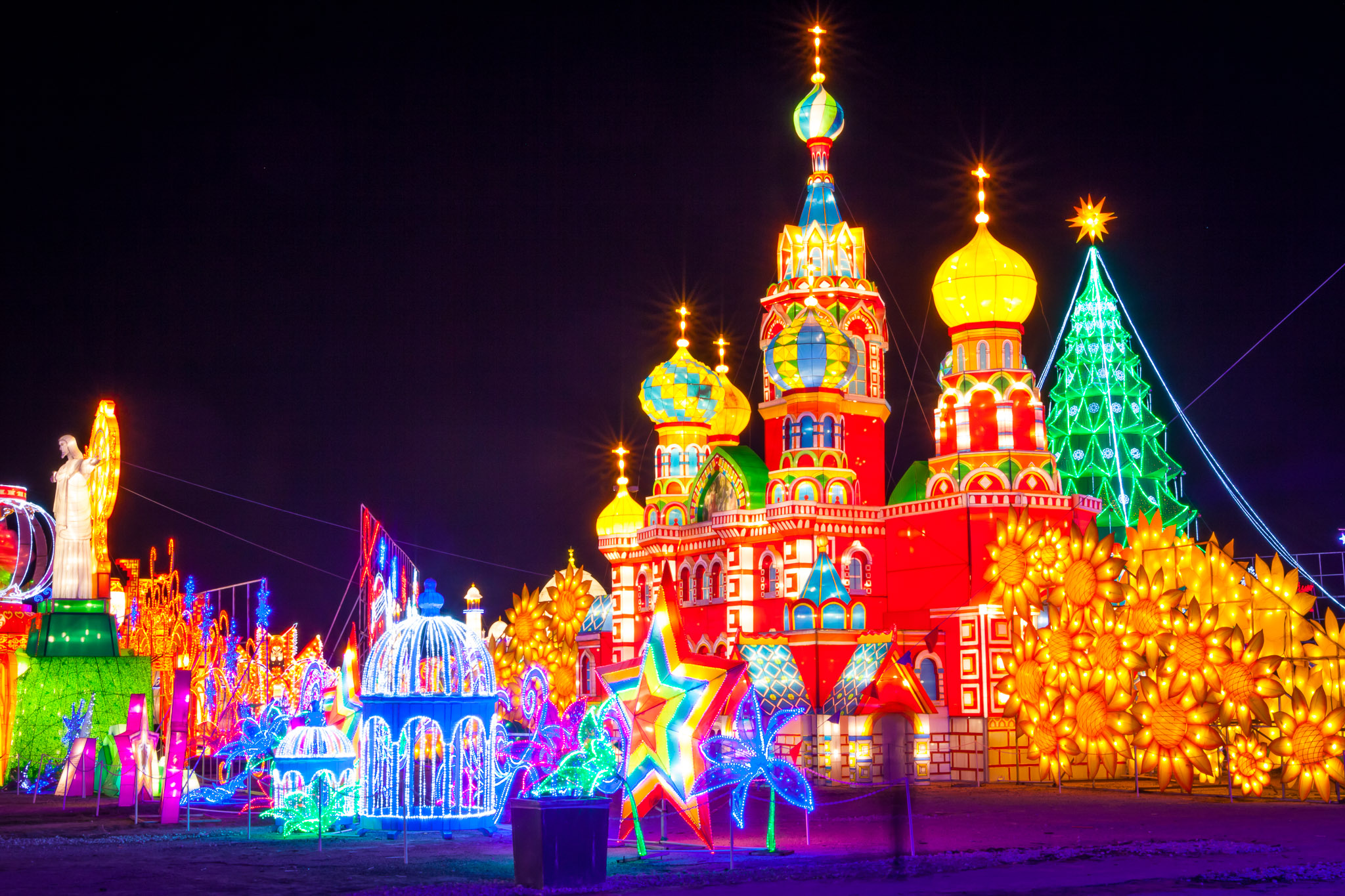 Houston Holiday Lights: Magical Winter Lights & Lantern Festival ...