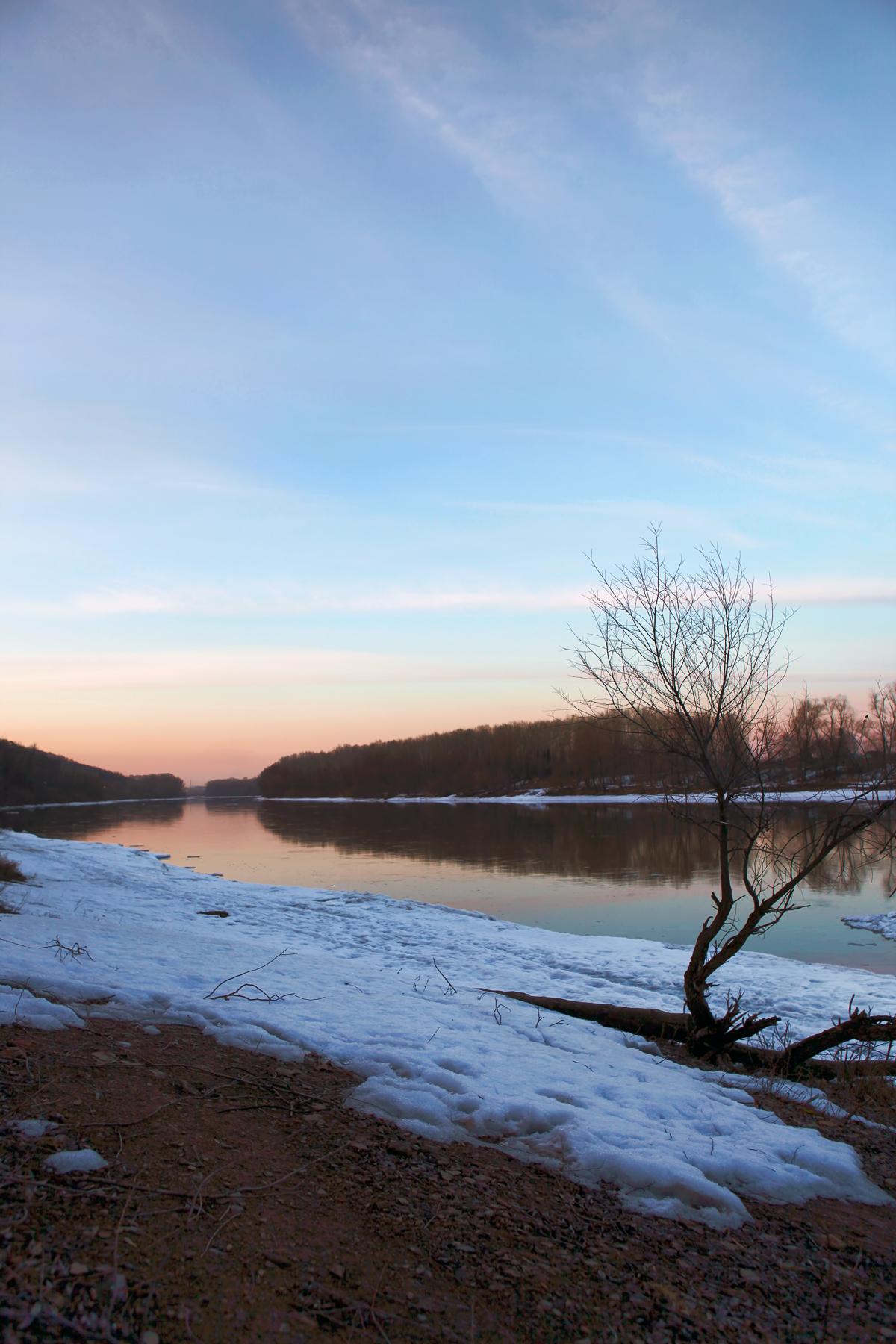 Winter morning photo