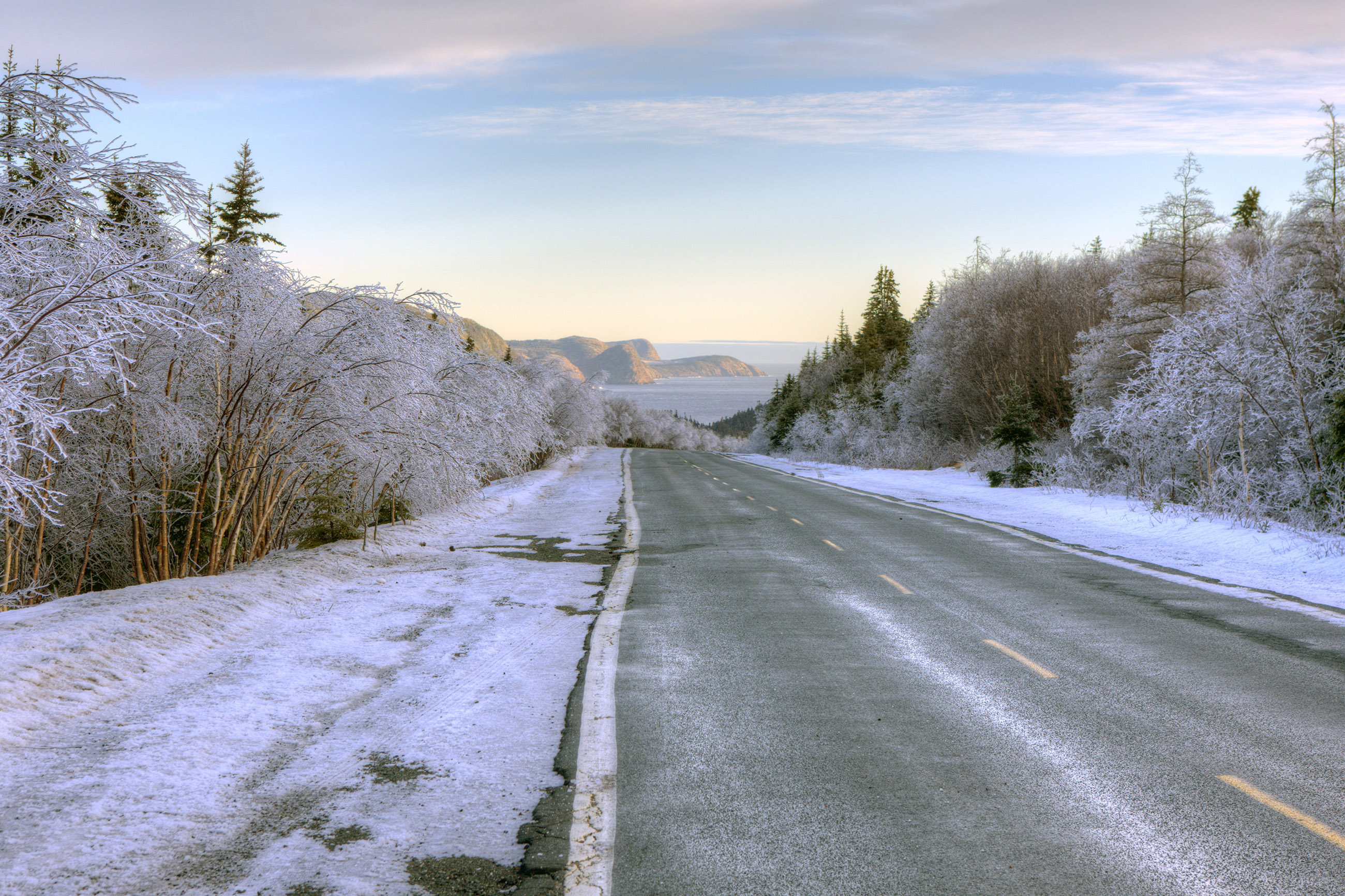 Winter Road, Area, Sunlight, Photography, Polar, HQ Photo
