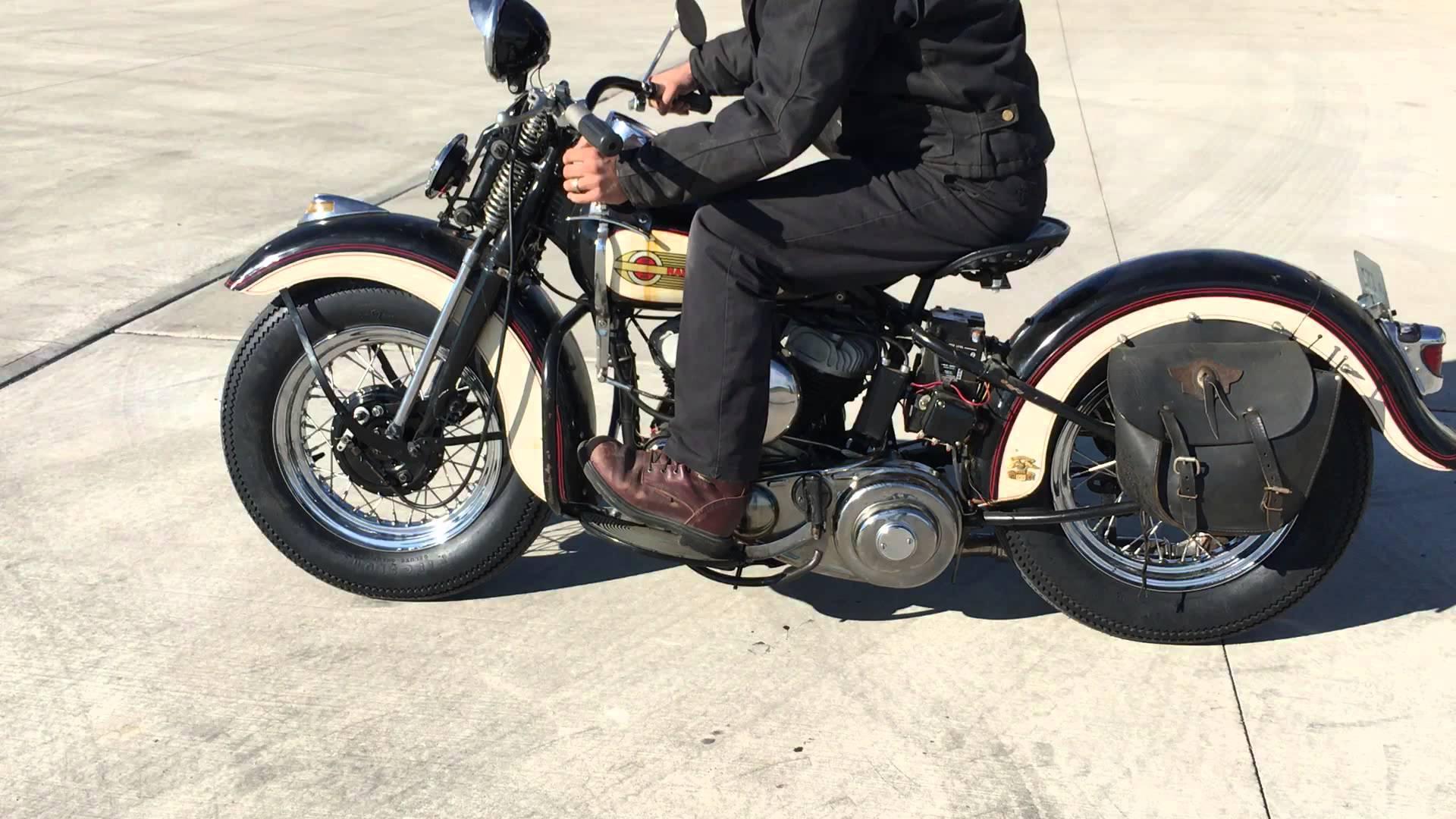 1939 Harley-Davidson WLD motor for sale MOV1 - YouTube