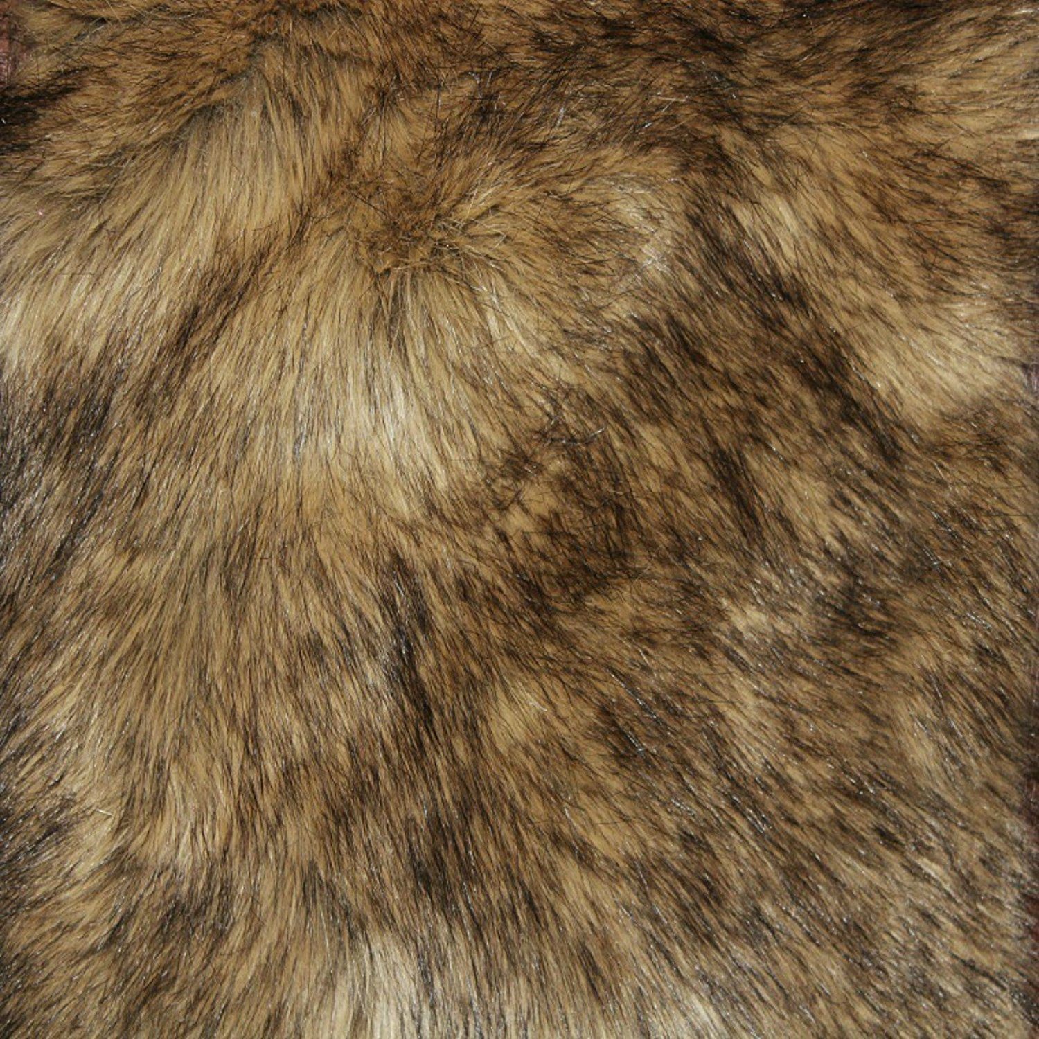Amazon.com: Fur Accents Timber Wolf Pelt Rug Coyote Bear Skin Area ...
