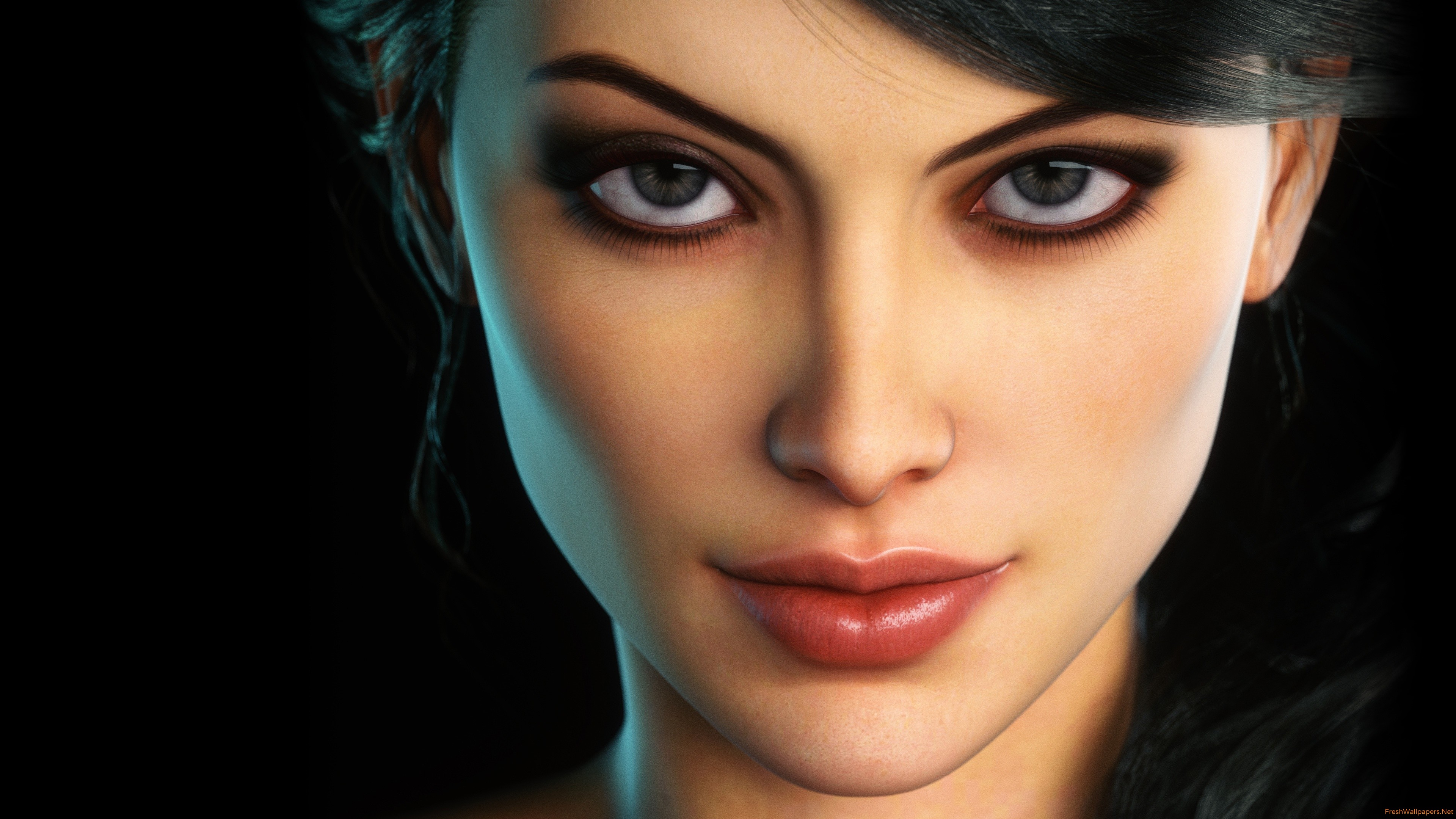 Fantasy Woman Face wallpapers | Freshwallpapers