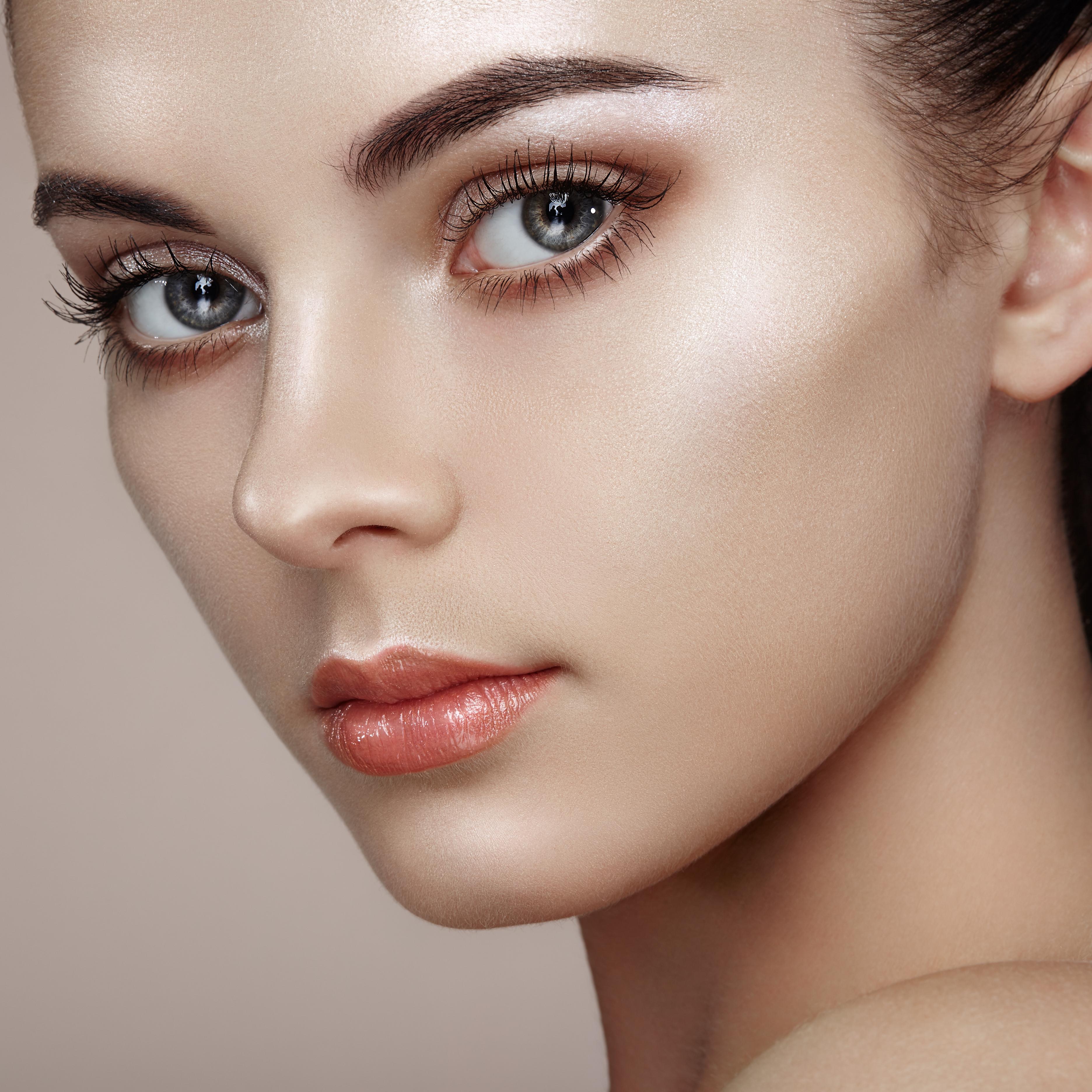 Beautiful Woman Face -